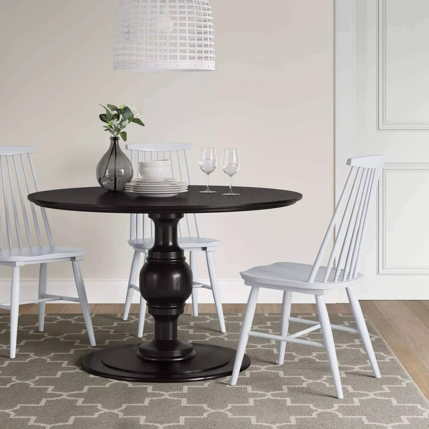 Popular Harwich Ceramic Garden Stools Within Amazon – Harwich High Back Windsor Dining Chair (View 25 of 30)