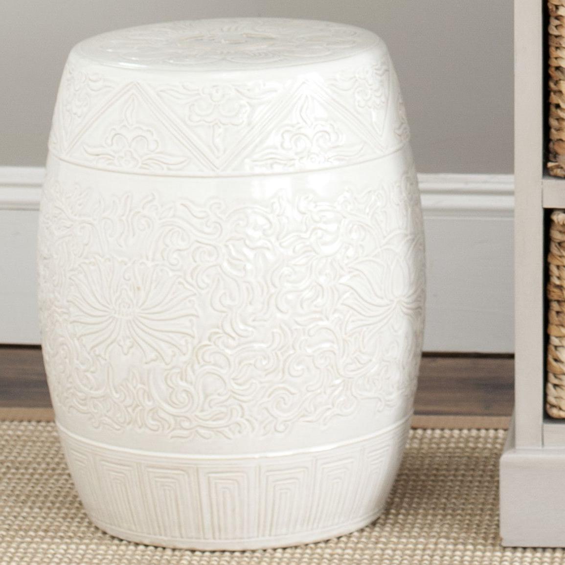 Popular Lavin Ceramic Garden Stool (View 3 of 30)