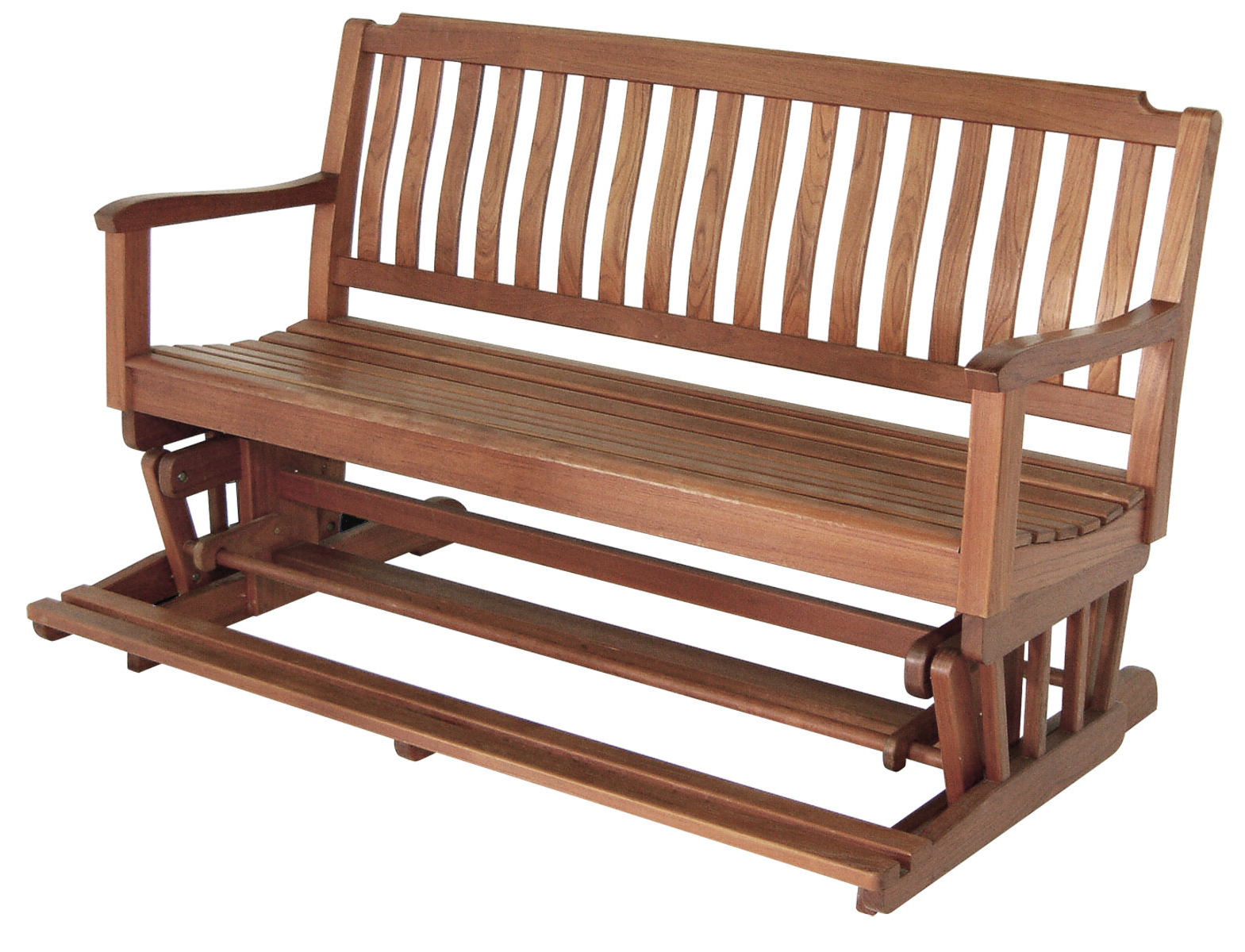 Popular Sibbi Glider Benches With Teak Glider Bench (View 4 of 30)