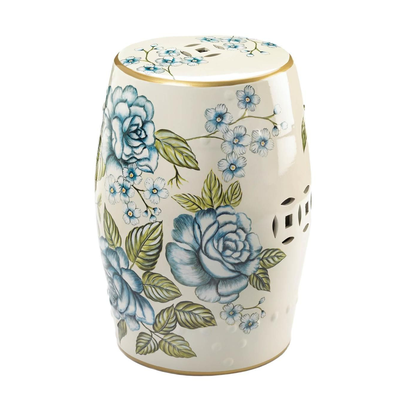 Popular Tillia Ceramic Garden Stools For Ceramic Garden Stolls (View 18 of 30)