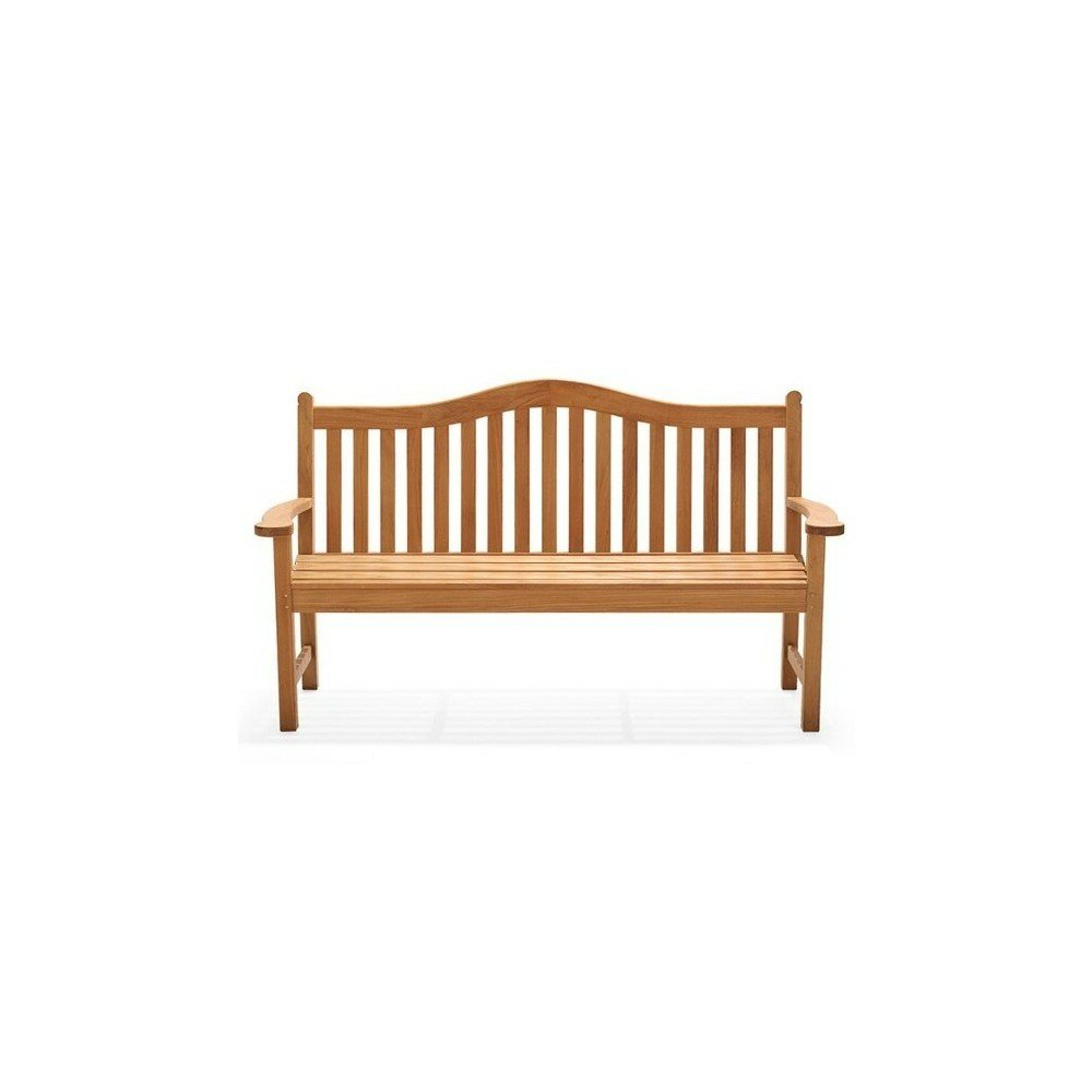 Popular Wallie Teak Garden Benches For Mahle Grade A Luxurious Teak Garden Bench (View 11 of 30)