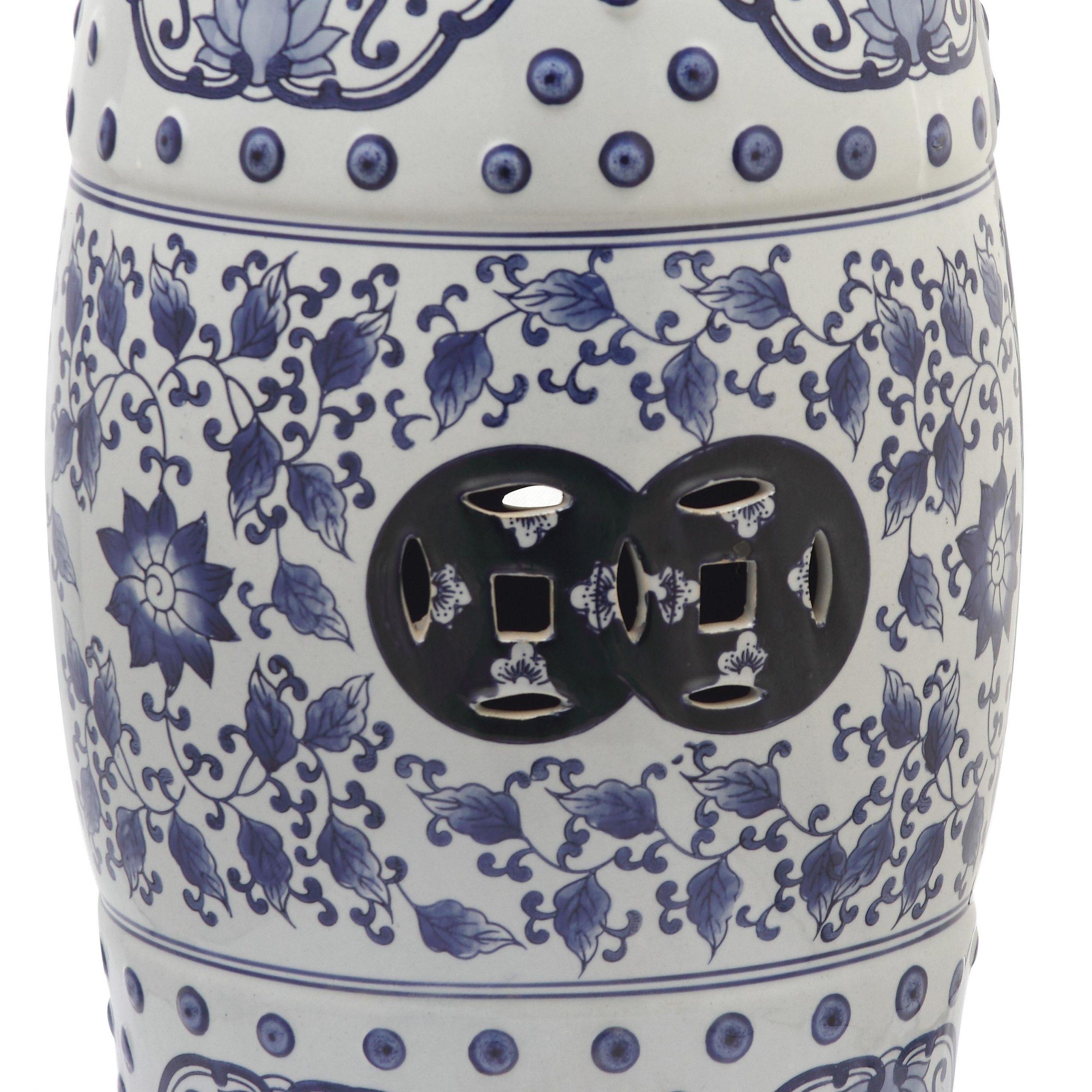 Popular Winterview Garden Stools Inside Murphy Ceramic Garden Stool (View 17 of 30)