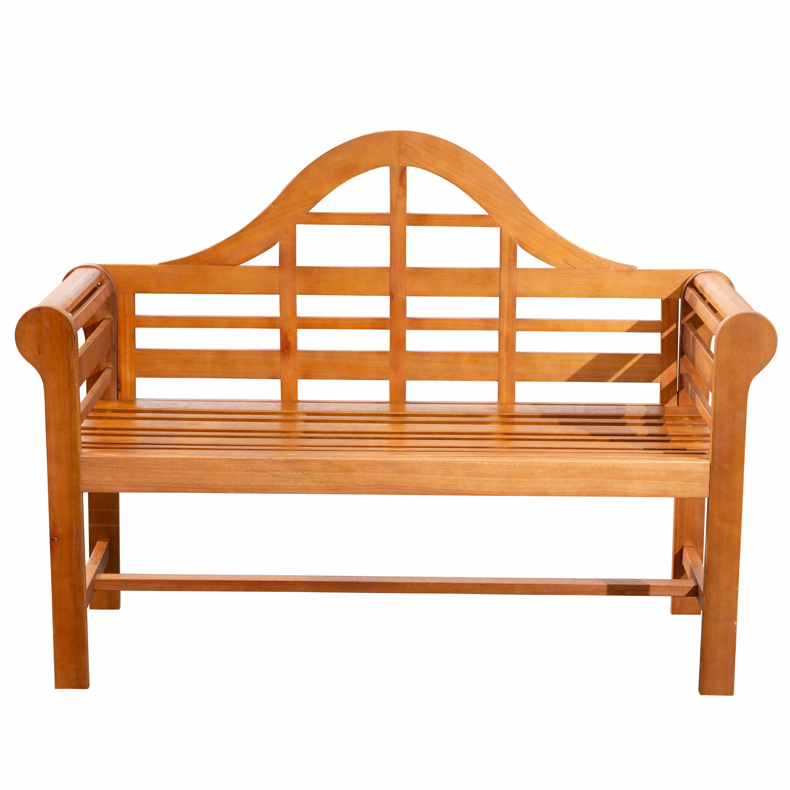 Preferred Alfon Wood Garden Benches Pertaining To Michalski Wooden Garden Bench (View 3 of 30)