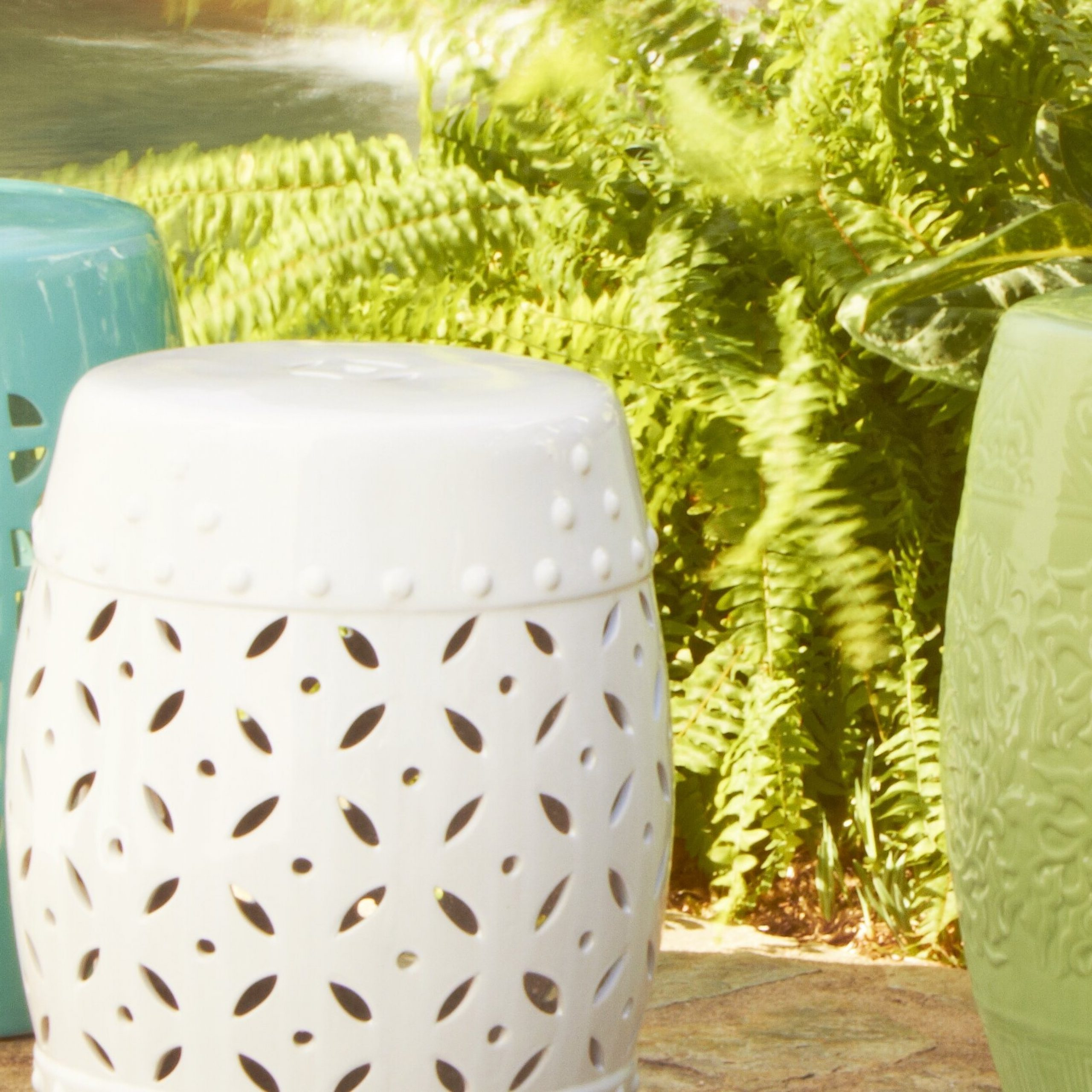 Preferred Birch Lane: Farmhouse & Traditional Furniture – Made To Last For Holbrook Ceramic Garden Stools (View 21 of 30)