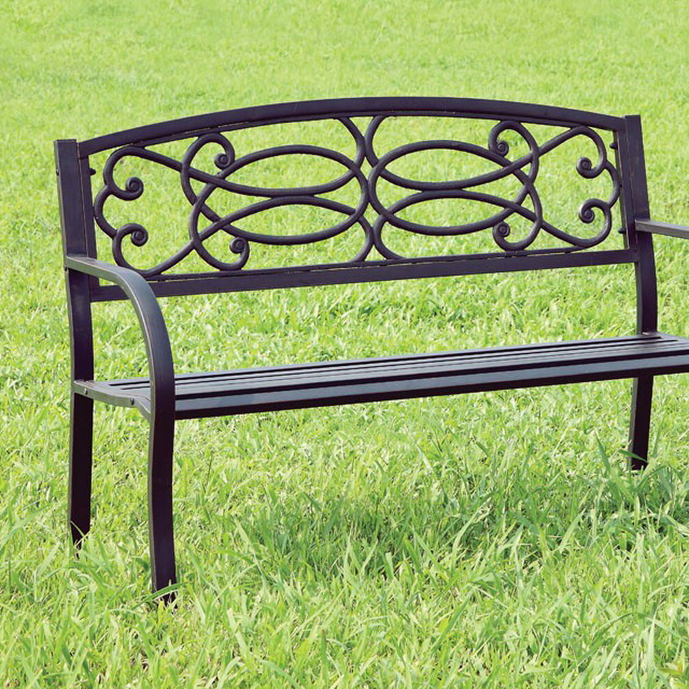 Preferred Boyd Steel Garden Bench Within Ishan Steel Park Benches (View 13 of 30)