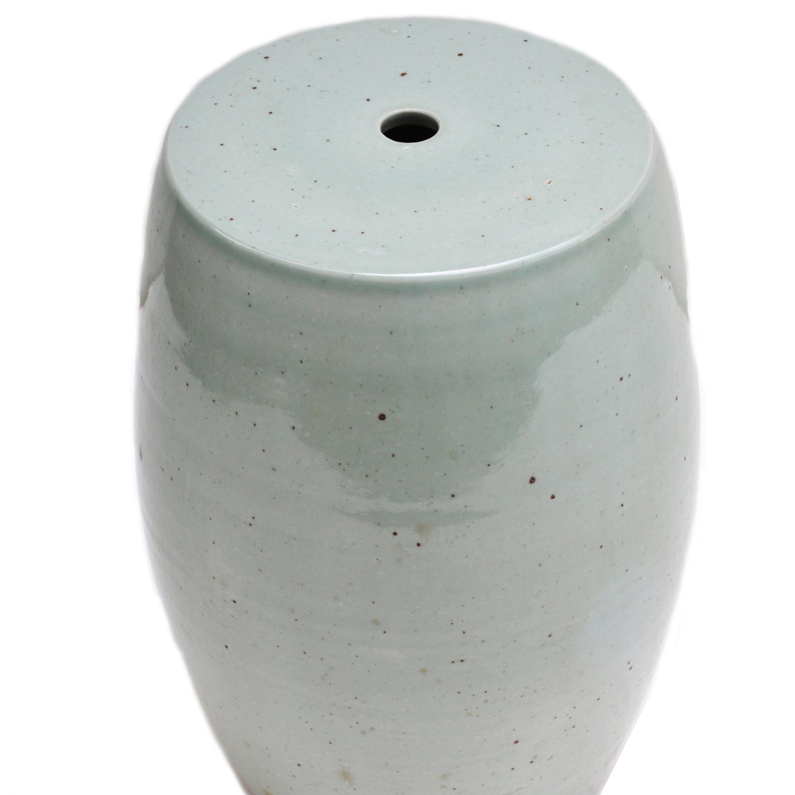 Preferred Ceramic Garden Stools For Celadon Glazed Ceramic Garden Stool (View 3 of 30)