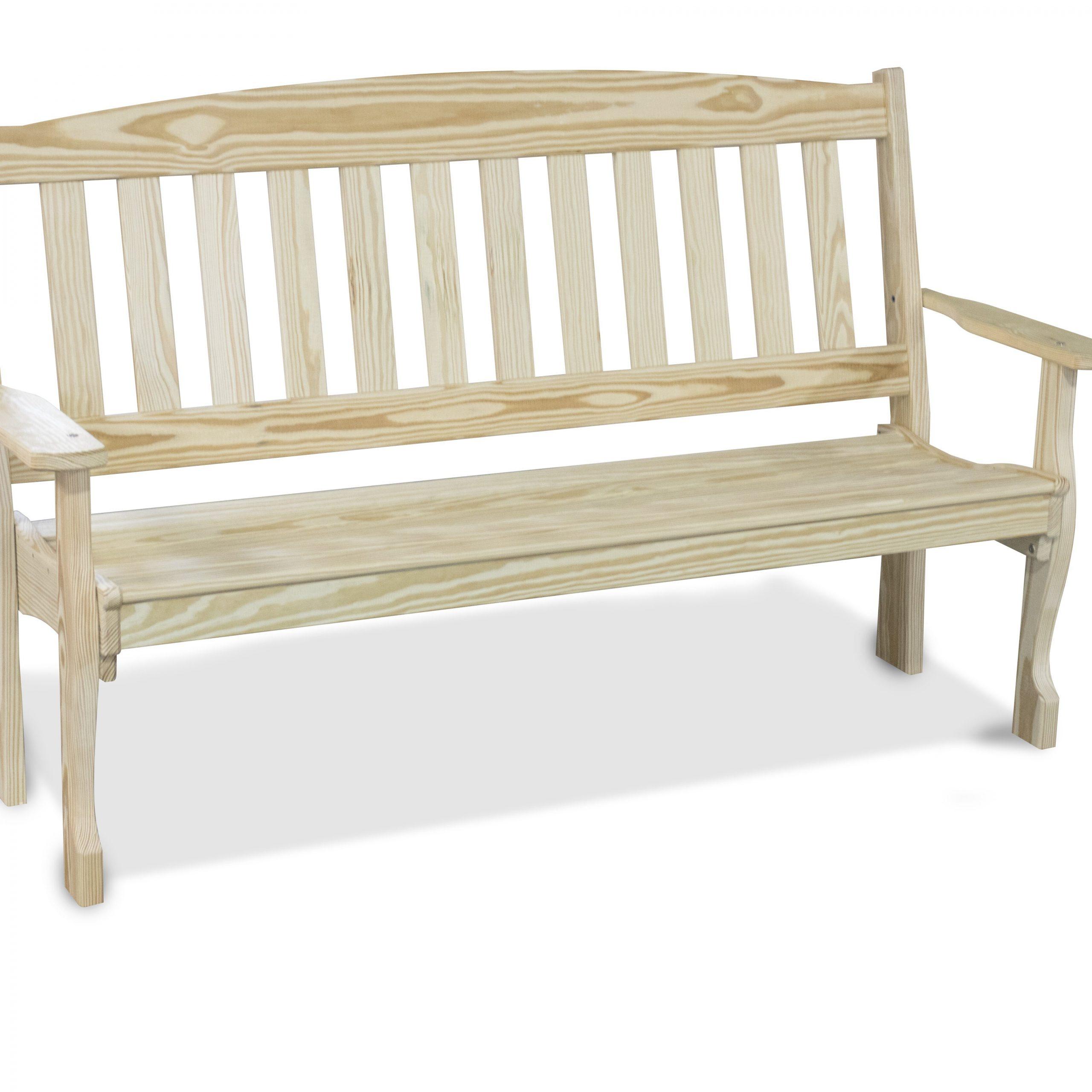 Preferred Wooden Garden Bench Throughout Harpersfield Wooden Garden Benches (View 9 of 30)