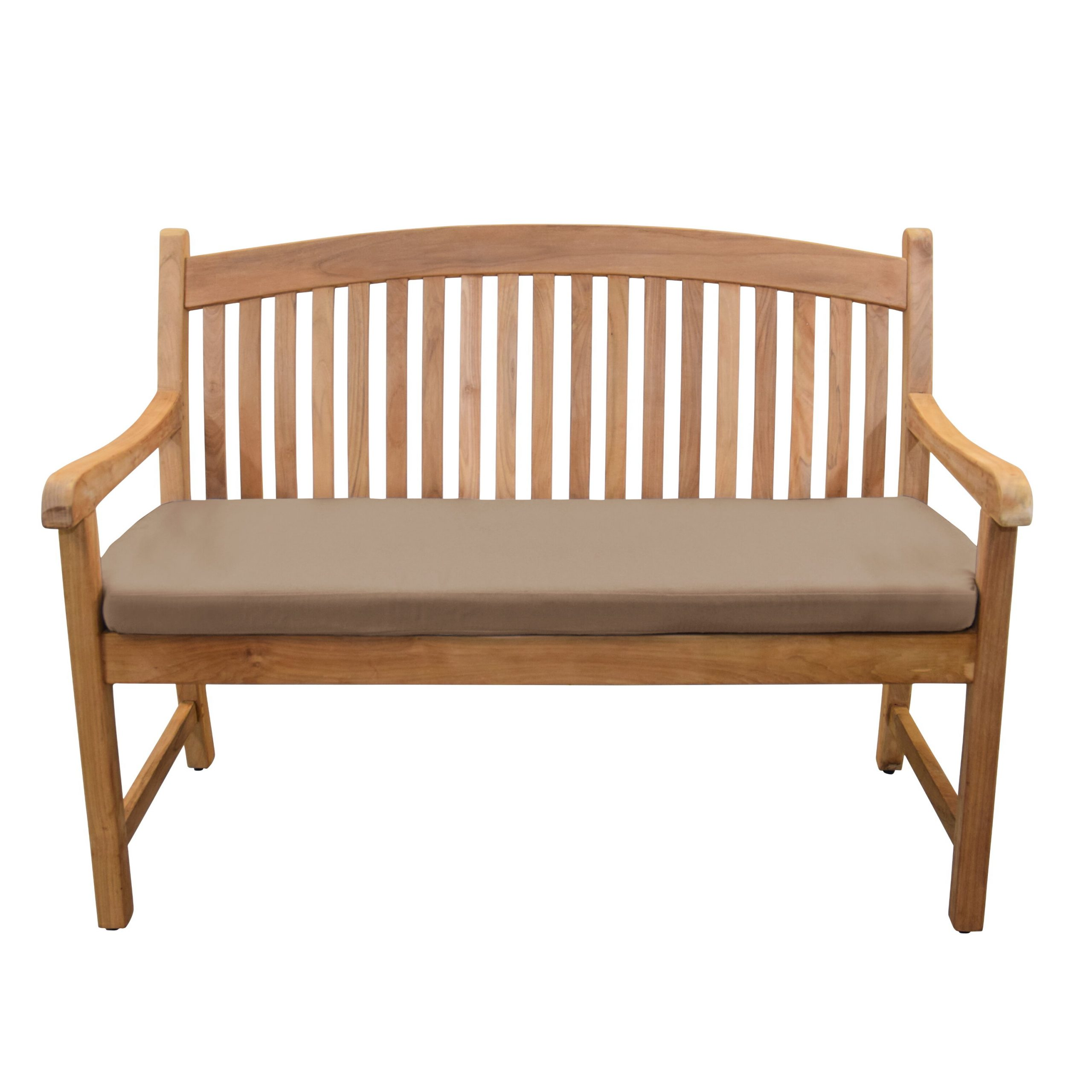 Pulver Teak Garden Bench Pertaining To Well Liked Wallie Teak Garden Benches (View 5 of 30)
