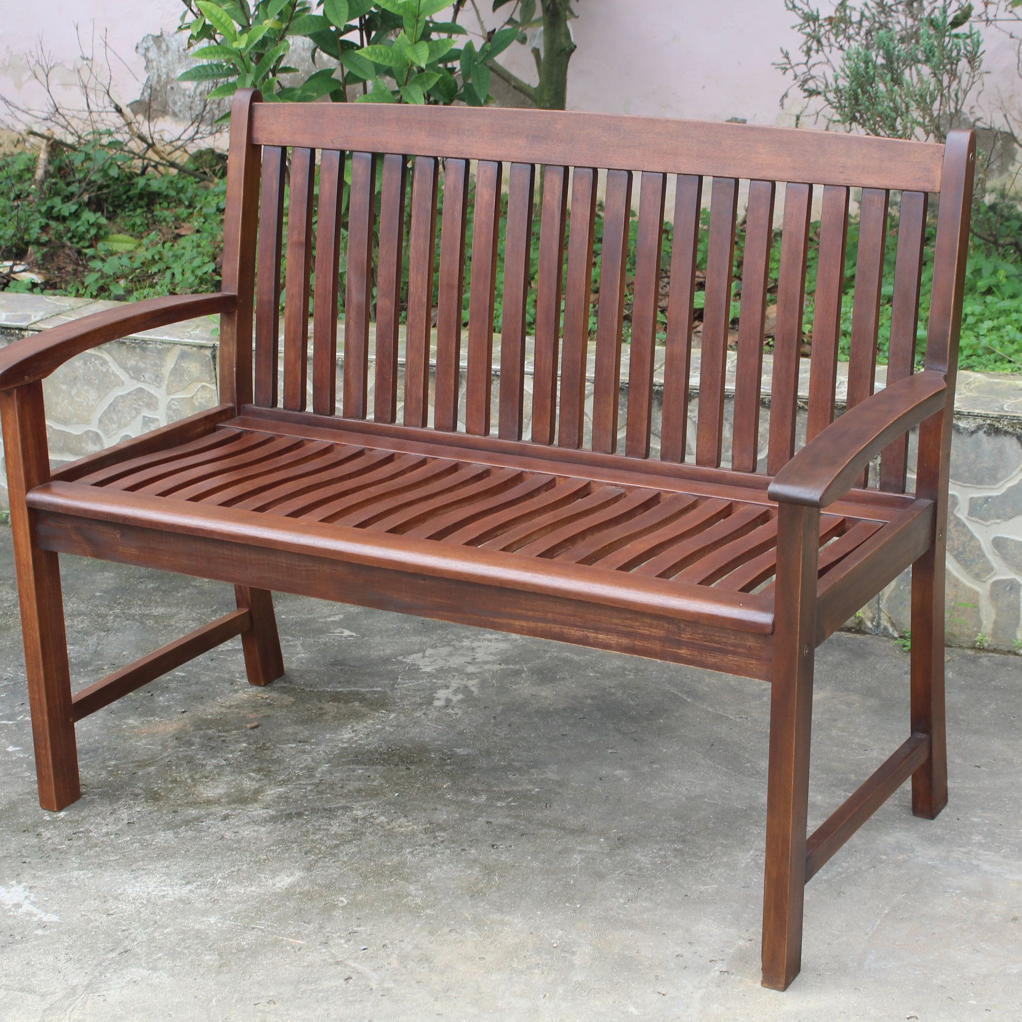 Recent Coleen Outdoor Teak Garden Benches Within Pin Oleh Rizart Rizart (View 13 of 30)
