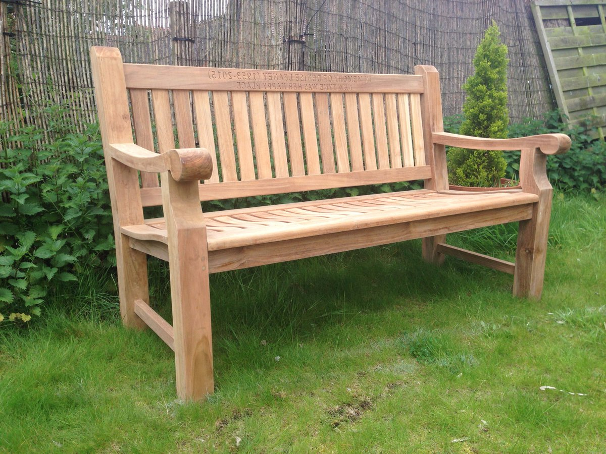 Recent Hampstead Heath Teak Garden Benches For Memorialbenches Hashtag On Twitter (View 13 of 30)