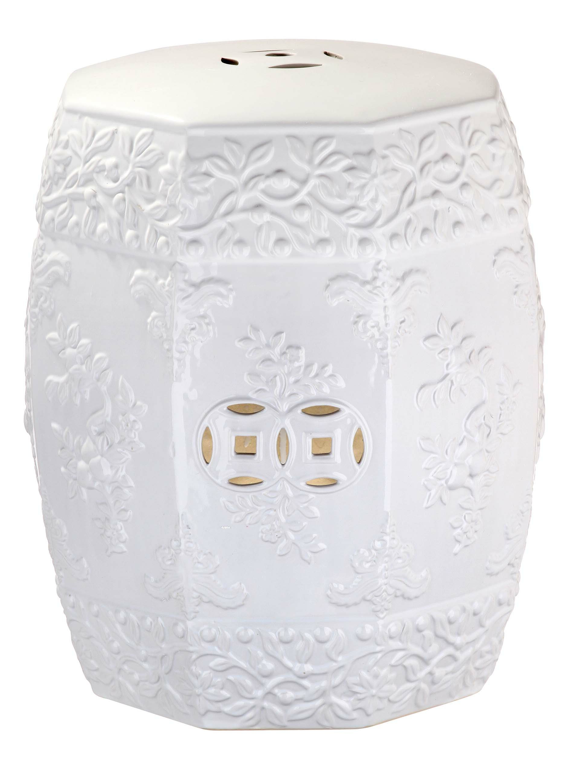 Renn Ceramic Garden Stool Inside Recent Fifi Ceramic Garden Stools (View 3 of 30)
