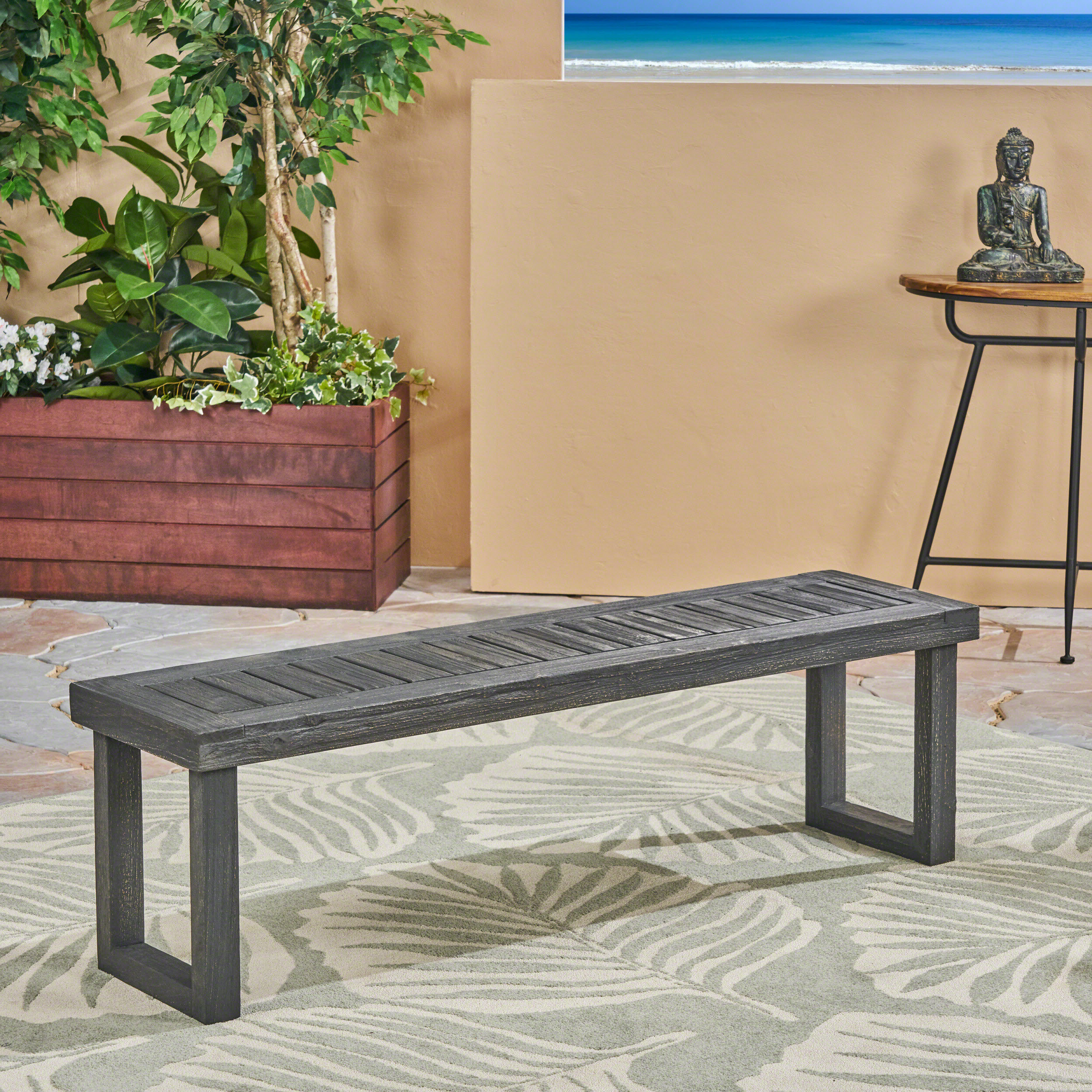 Rutherford Wooden Arbour Bench Inside Widely Used Lucille Timberland Wooden Garden Benches (View 11 of 30)