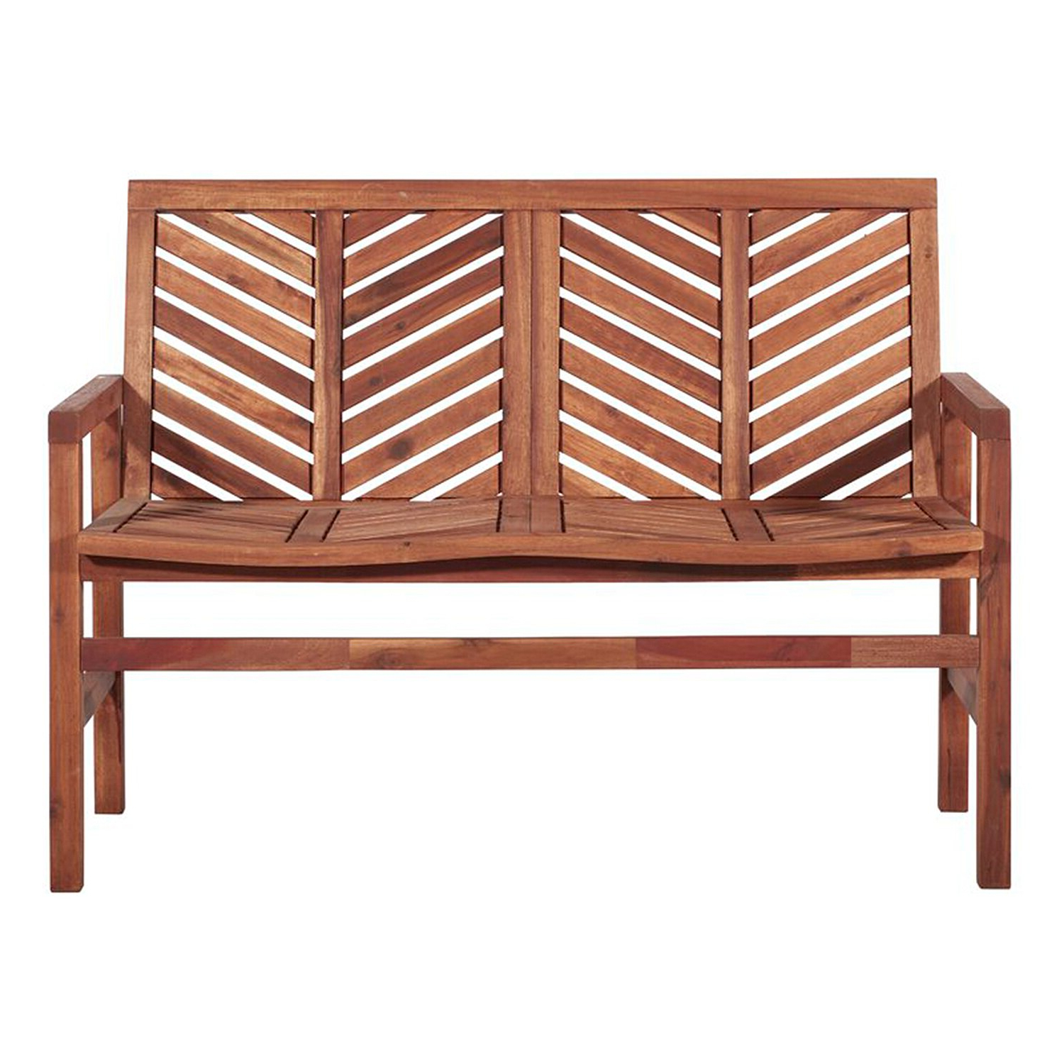 Skoog Chevron Wooden Garden Benches With Regard To Well Liked The 10 Best Deals From Wayfair's Outdoor Furniture Sale (View 5 of 30)