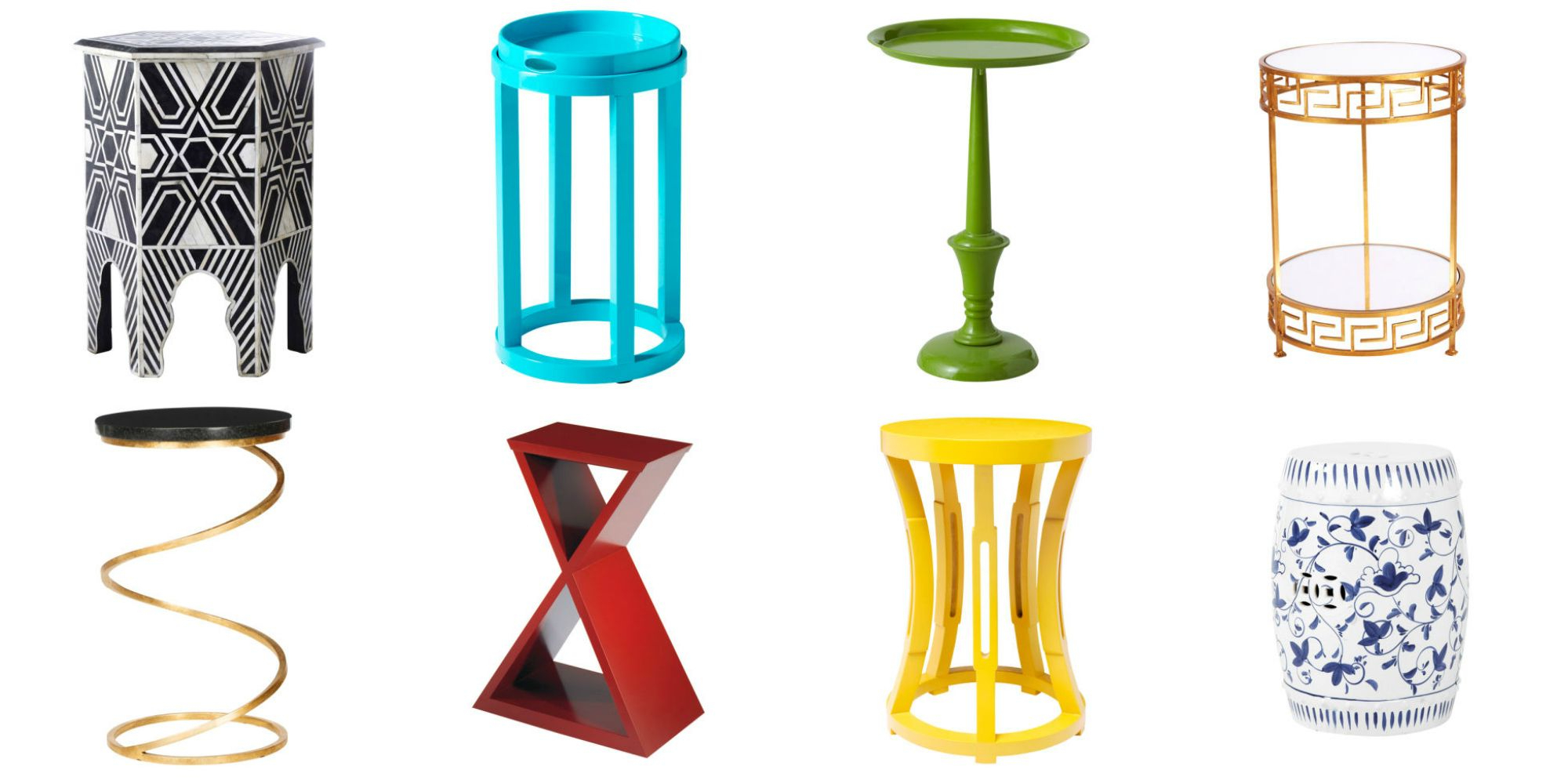 Small Accent Tables – Side Table Designs For Most Current Swanson Ceramic Garden Stools (View 24 of 30)