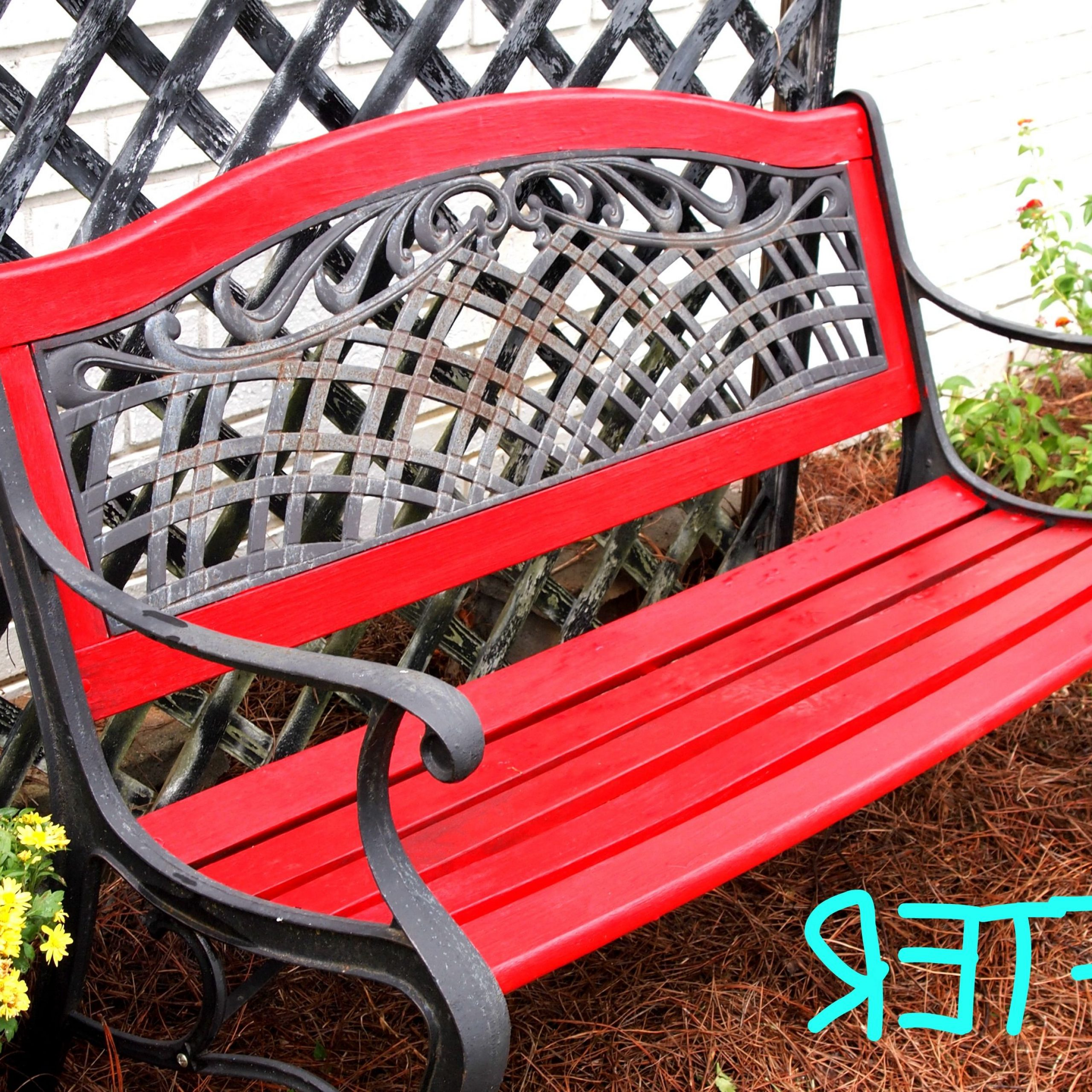 Small Garden Bench (View 22 of 30)