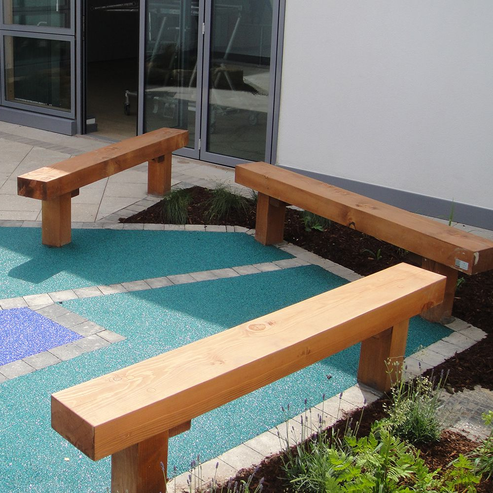 Solid Timber Bench With Regard To Fashionable Manchester Solid Wood Garden Benches (View 25 of 30)