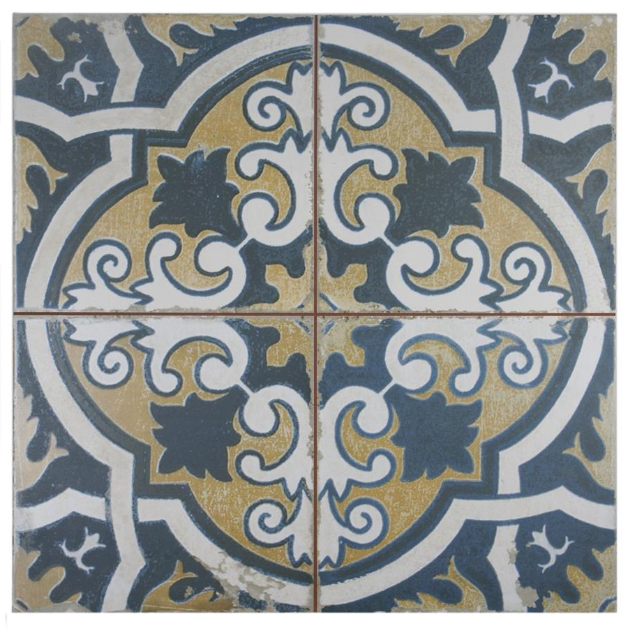 "Somertile 17.75"" X 17.75"" Royals Canarsie Ceramic Floor And Wall Tile (5 Tiles/ 11.02 Sqft (View 22 of 30)"