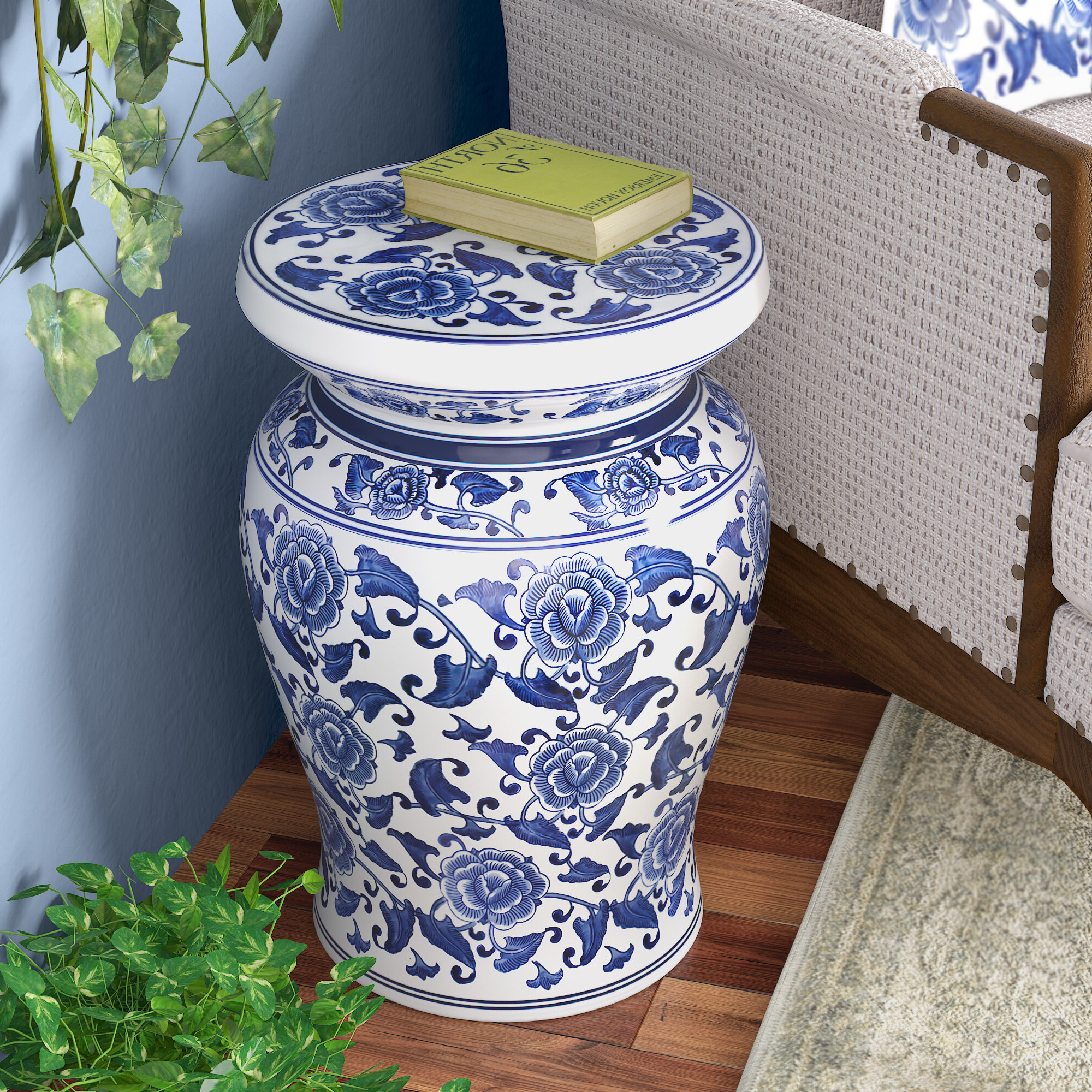 Southsea Ceramic Garden Stool Intended For Popular Weir Garden Stools (View 4 of 30)