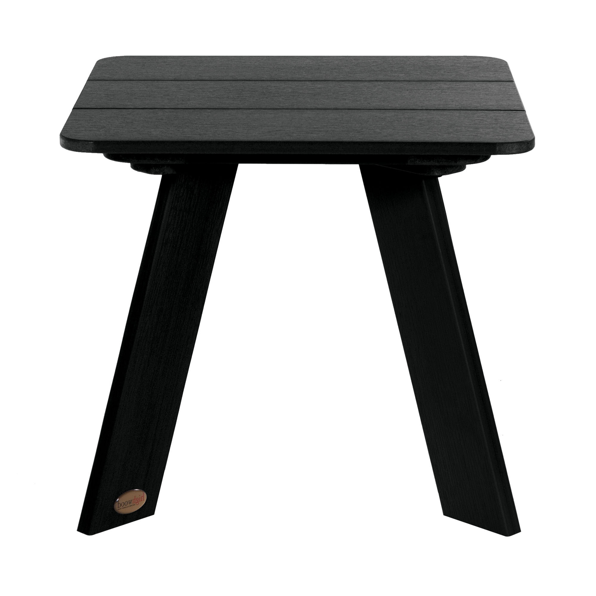Sullivan Plastic Side Table Pertaining To Well Known Harpersfield Wooden Garden Benches (View 26 of 30)