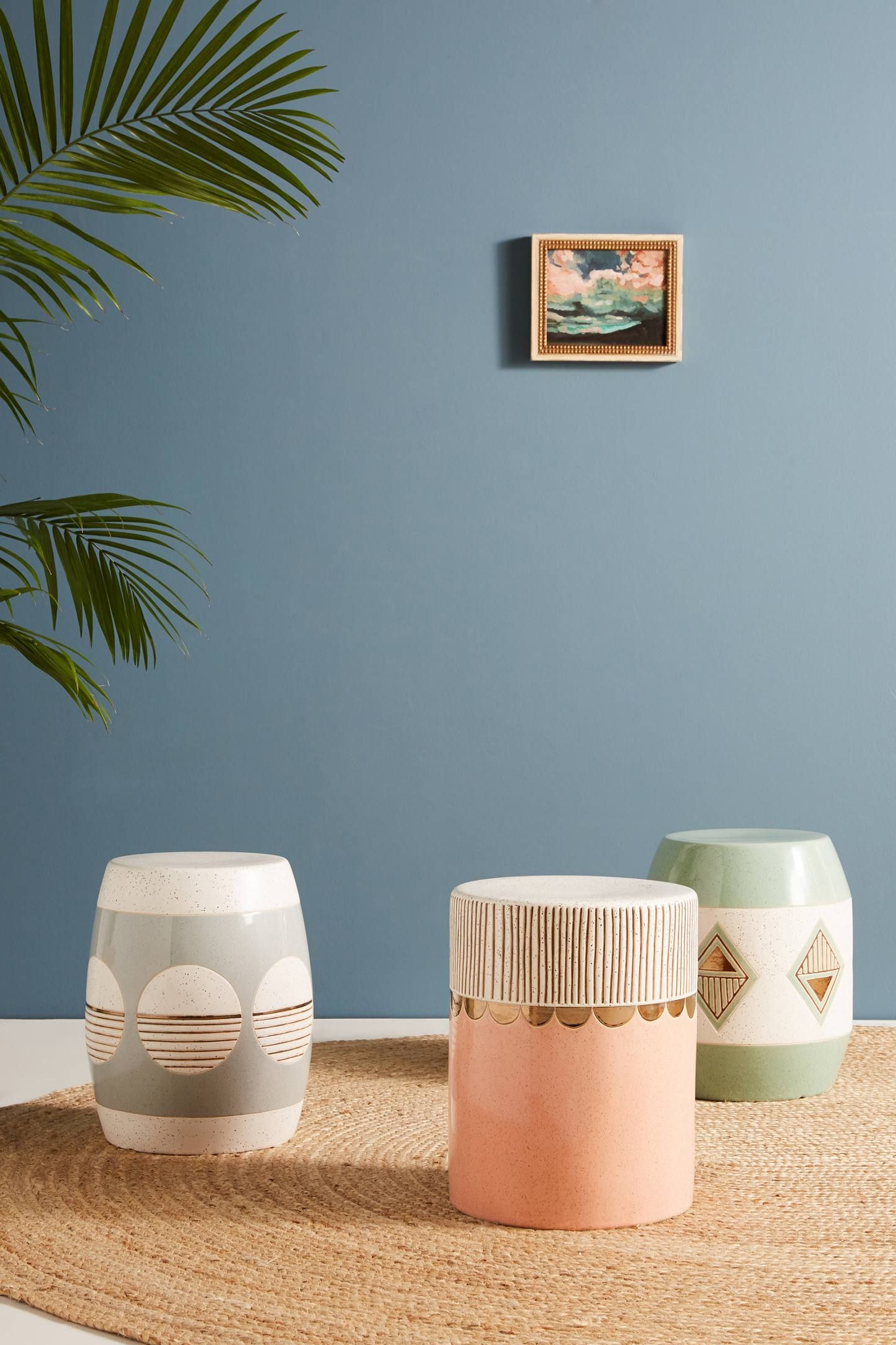 Svendsen Ceramic Garden Stools For Latest Cathy Terepocki Ceramic Stool (View 17 of 30)