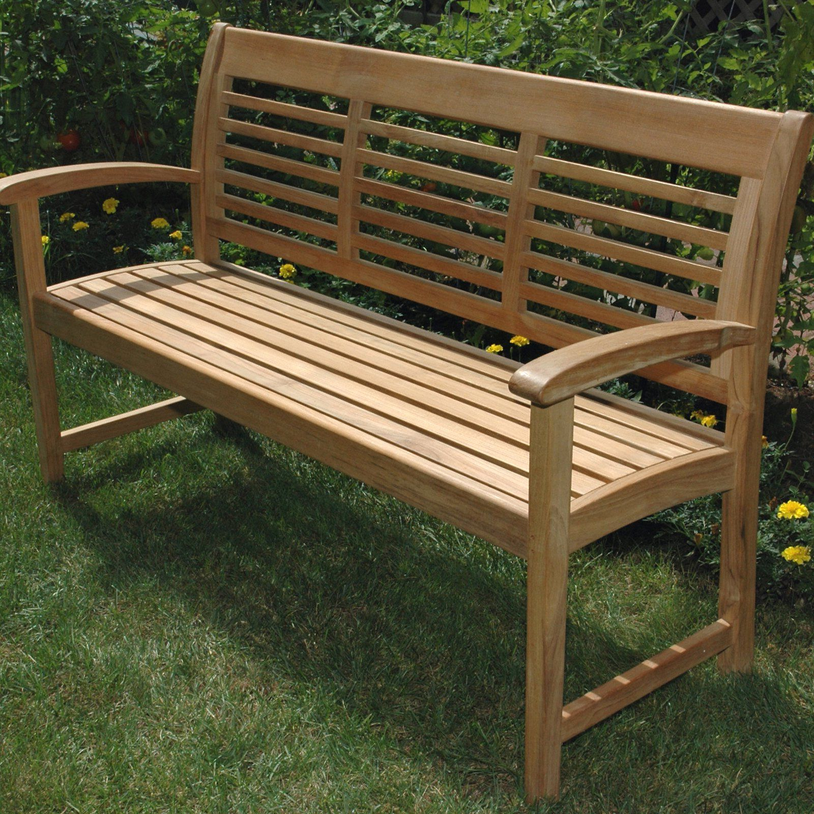 Teak Garden Regarding Coleen Outdoor Teak Garden Benches (View 2 of 30)