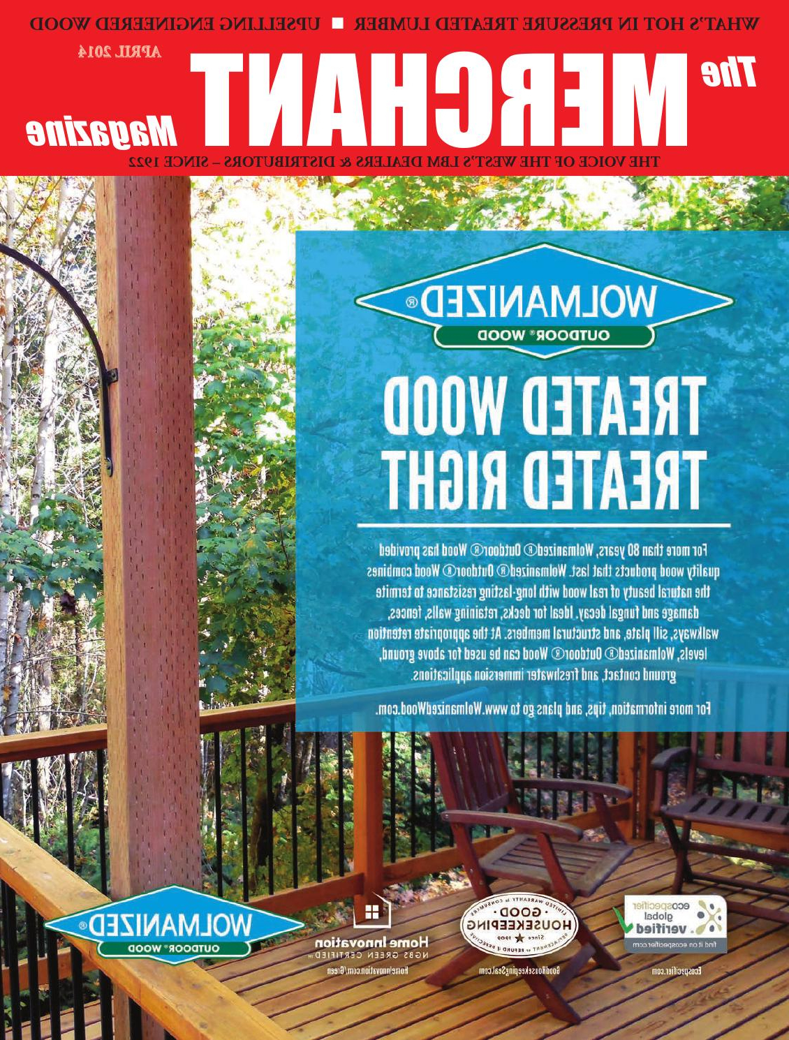 The Merchant April 2014526 Media Group – Issuu Inside Preferred Lucille Timberland Wooden Garden Benches (View 29 of 30)