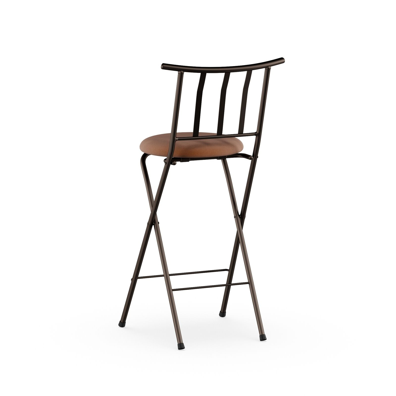 "Tillia Ceramic Garden Stools Pertaining To Favorite Mainstays Slat Back Folding 30"" Bronze Bar Stool Multiple Colors (View 11 of 30)"