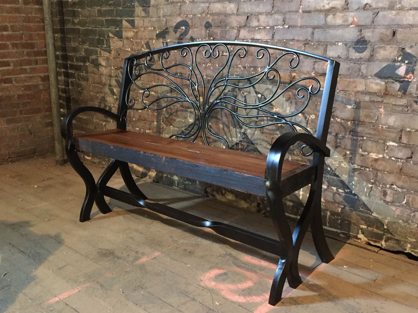 Tree Of Life Iron Garden Benches With Popular Tree Of Life Bench From Lost Path Iron (View 22 of 30)