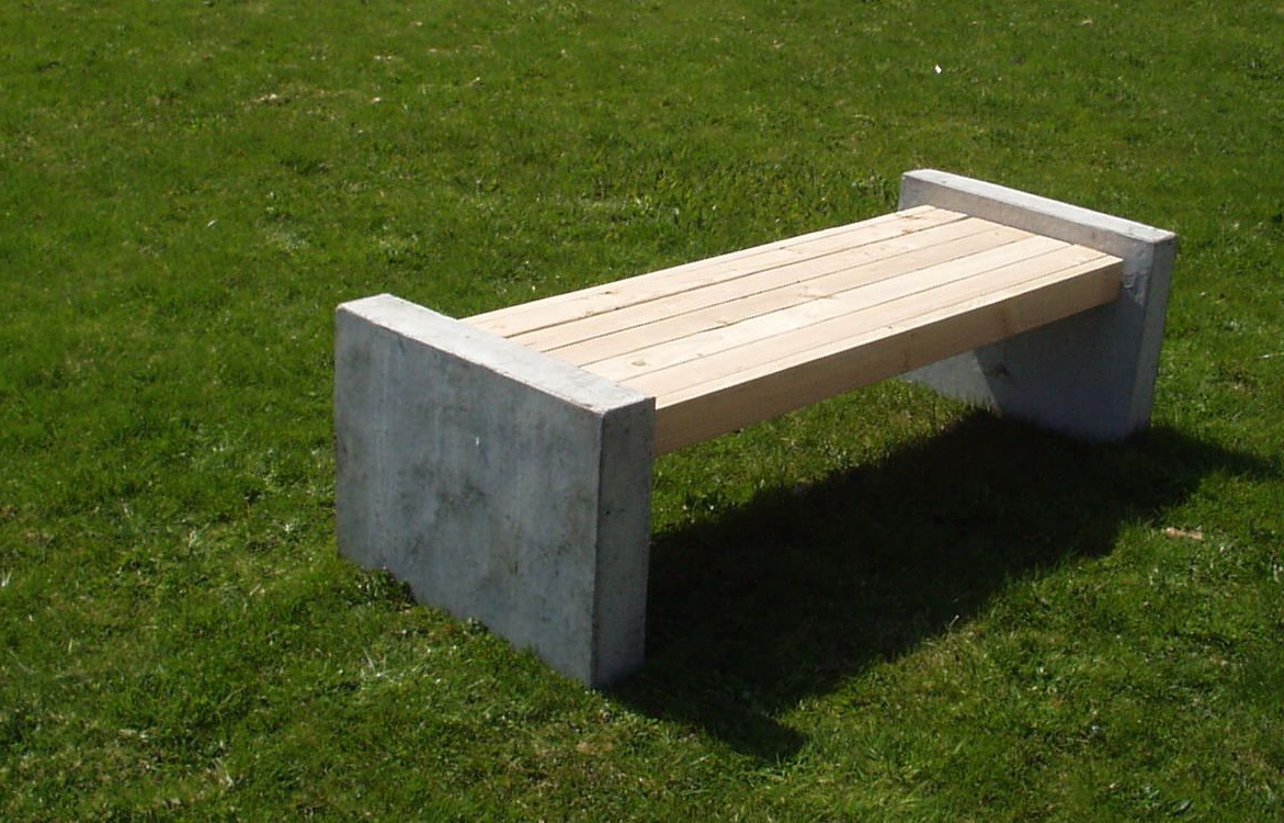 Trendy Manchester Wooden Garden Benches Regarding 6ft Concrete Manchester Bench (View 9 of 30)