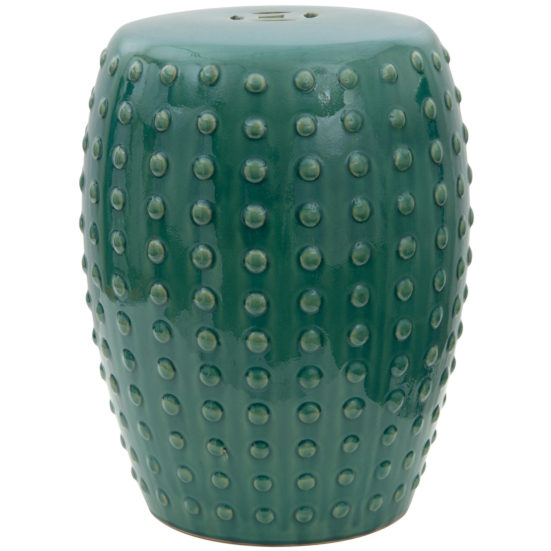 Trendy Mistana Renee Porcelain Garden Stool For Winterview Garden Stools (View 28 of 30)