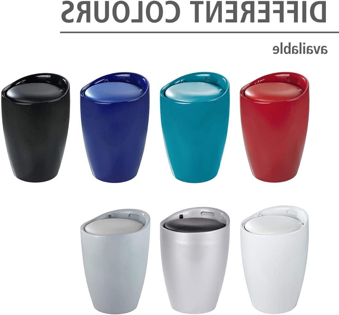 Trendy Swanson Ceramic Garden Stools Regarding Wenko Bathroom Stool Candy, 14.2 X 19.9 X (View 27 of 30)