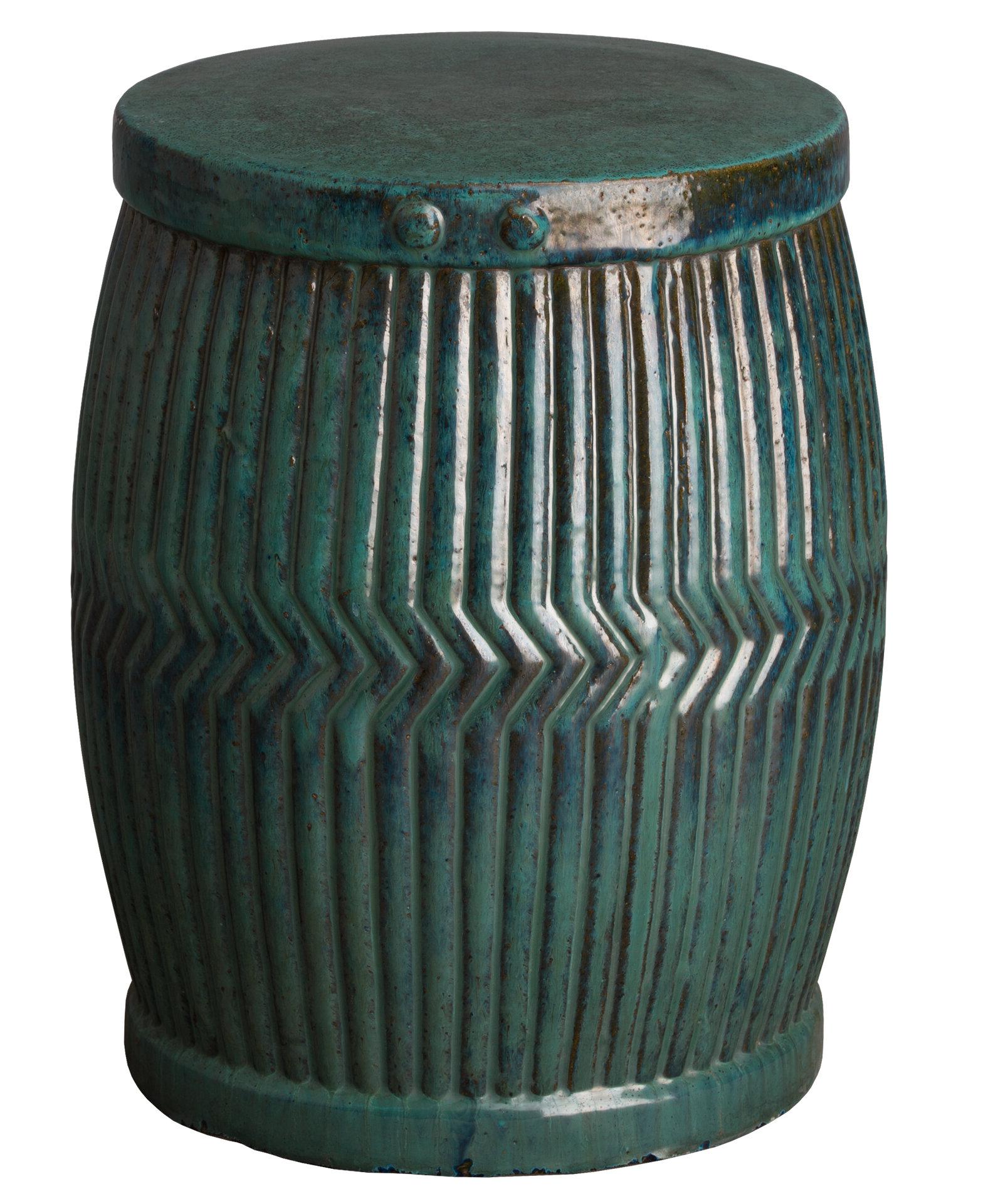 Trottier Tub Garden Stool For Trendy Wurster Ceramic Drip Garden Stools (View 28 of 30)