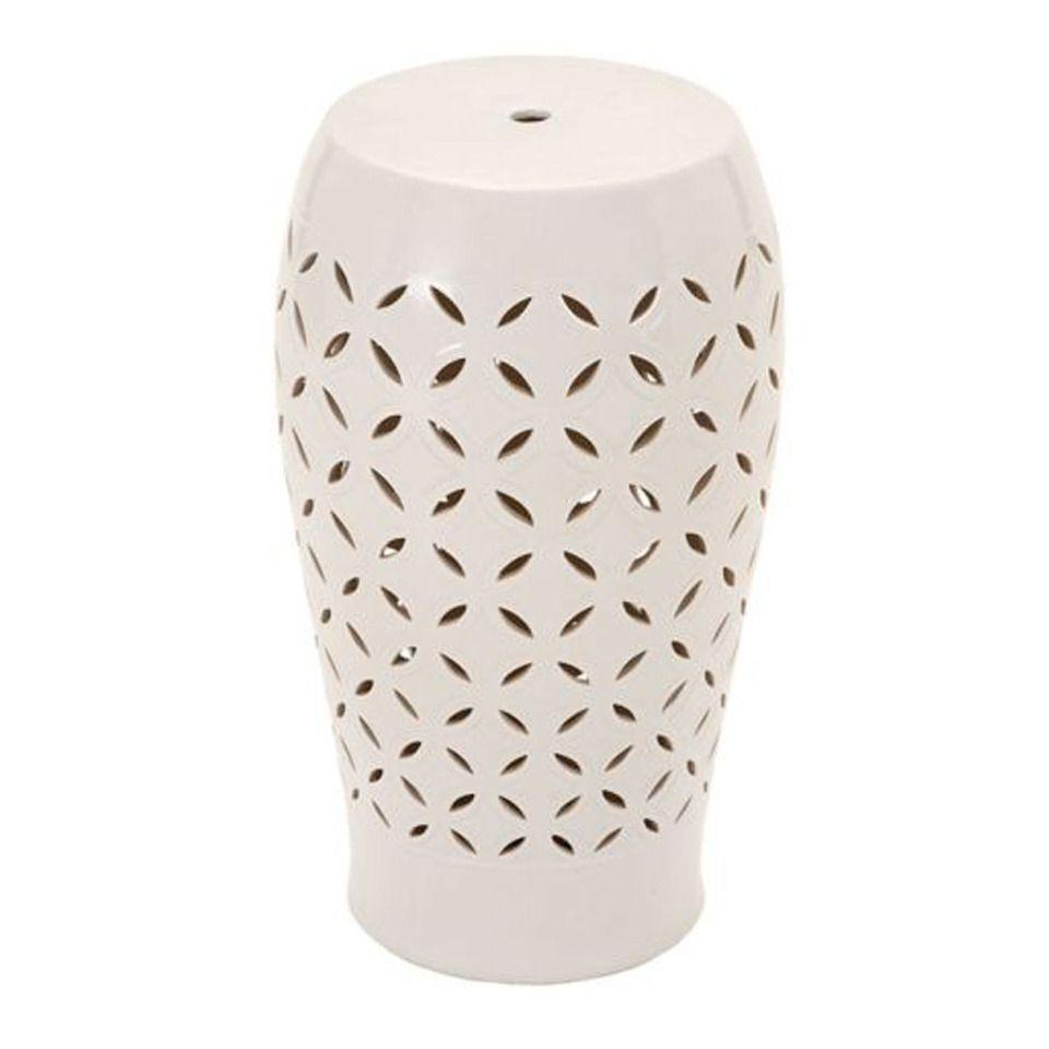 """Uma 20"""" Ceramic Stool – Beyond The Rack (View 18 of 30)"""