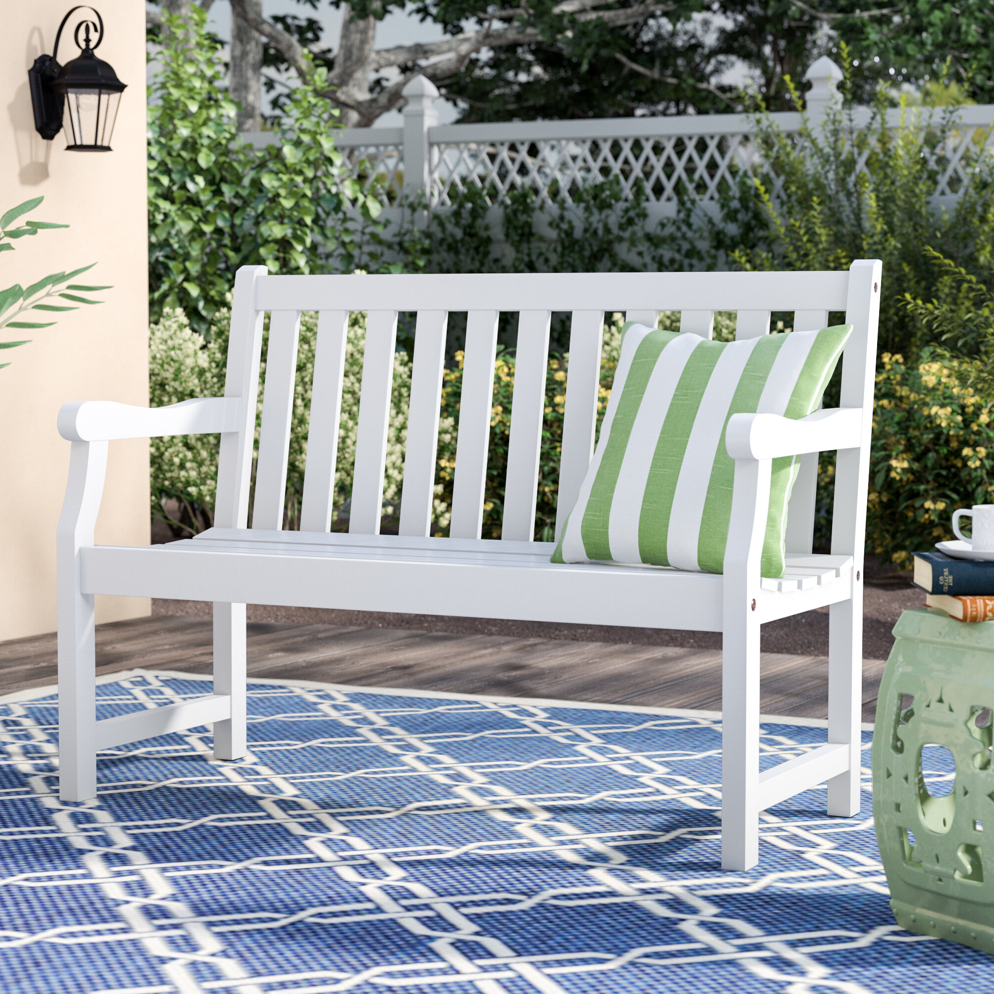 Wayfair Intended For Most Popular Aranita Tree Of Life Iron Garden Benches (View 25 of 30)