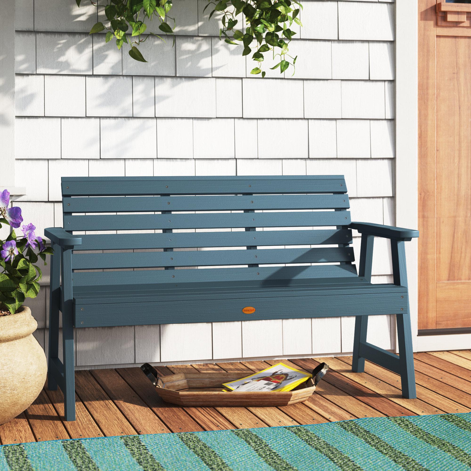 Wayfair Pertaining To Krystal Ergonomic Metal Garden Benches (View 6 of 30)
