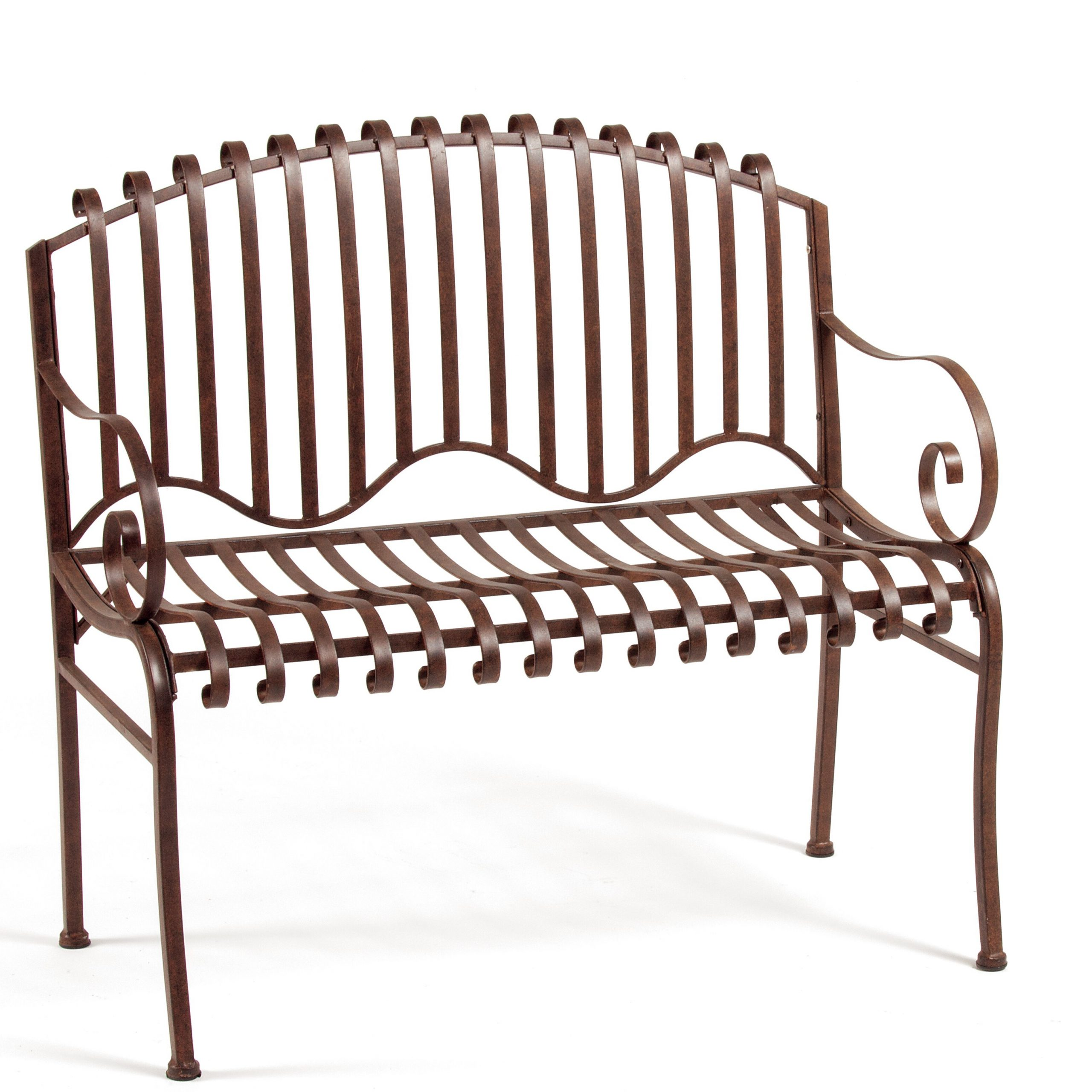 Well Known Archer Garden Bench For Norrie Metal Garden Benches (View 15 of 30)