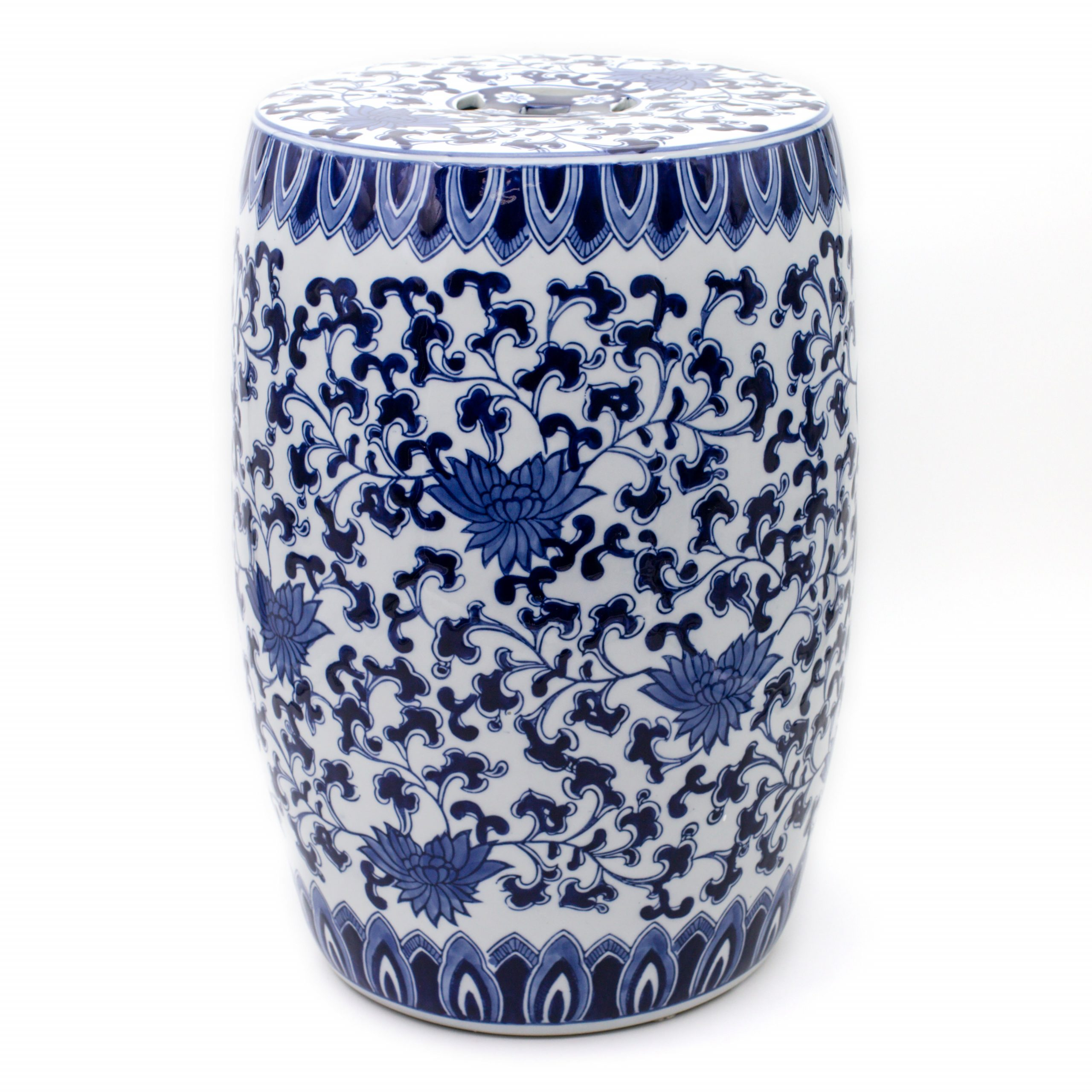 Well Known Ceramic Garden Stool With Wilde Poppies Ceramic Garden Stools (View 13 of 30)