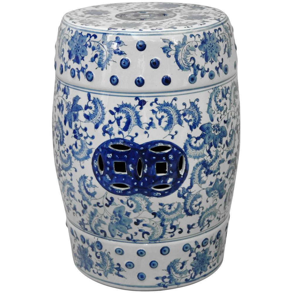 Well Known Renee Porcelain Garden Stools Pertaining To Oriental Unlimited Oriental Furniture 18 In (View 5 of 30)
