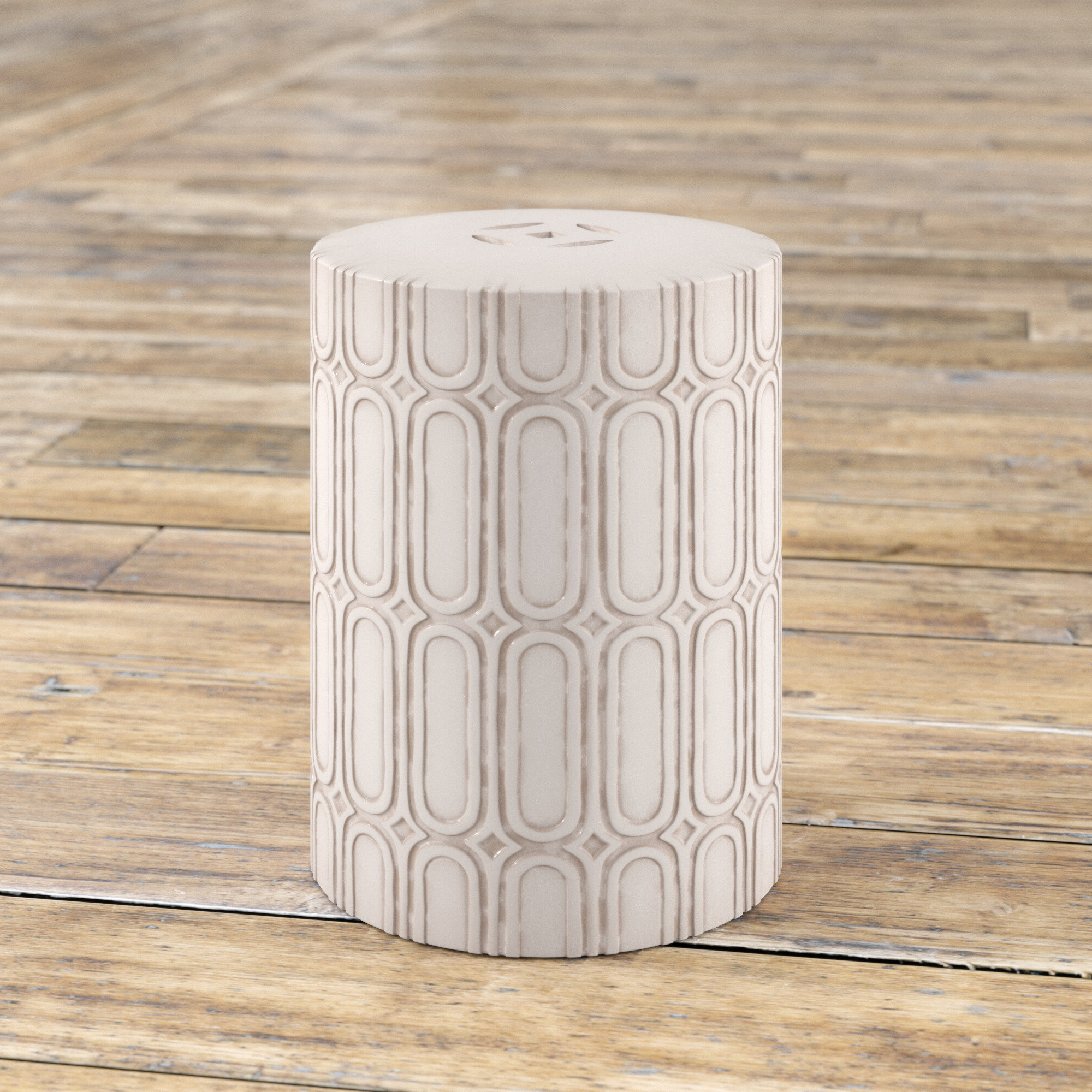 Well Known Sosa Ceramic Garden Stool Throughout Ceramic Garden Stools (View 21 of 30)