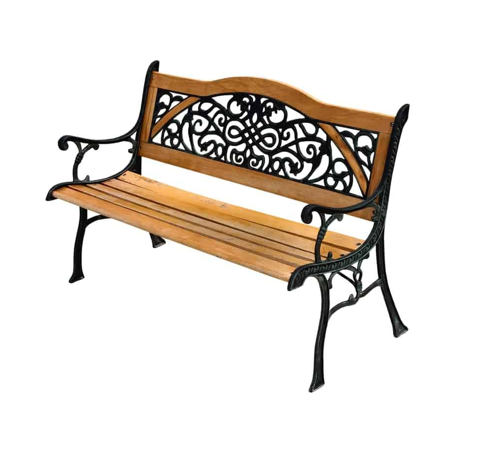 Well Known Tree Of Life Iron Garden Benches With 20 Different Types Of Garden Benches Explained (View 24 of 30)