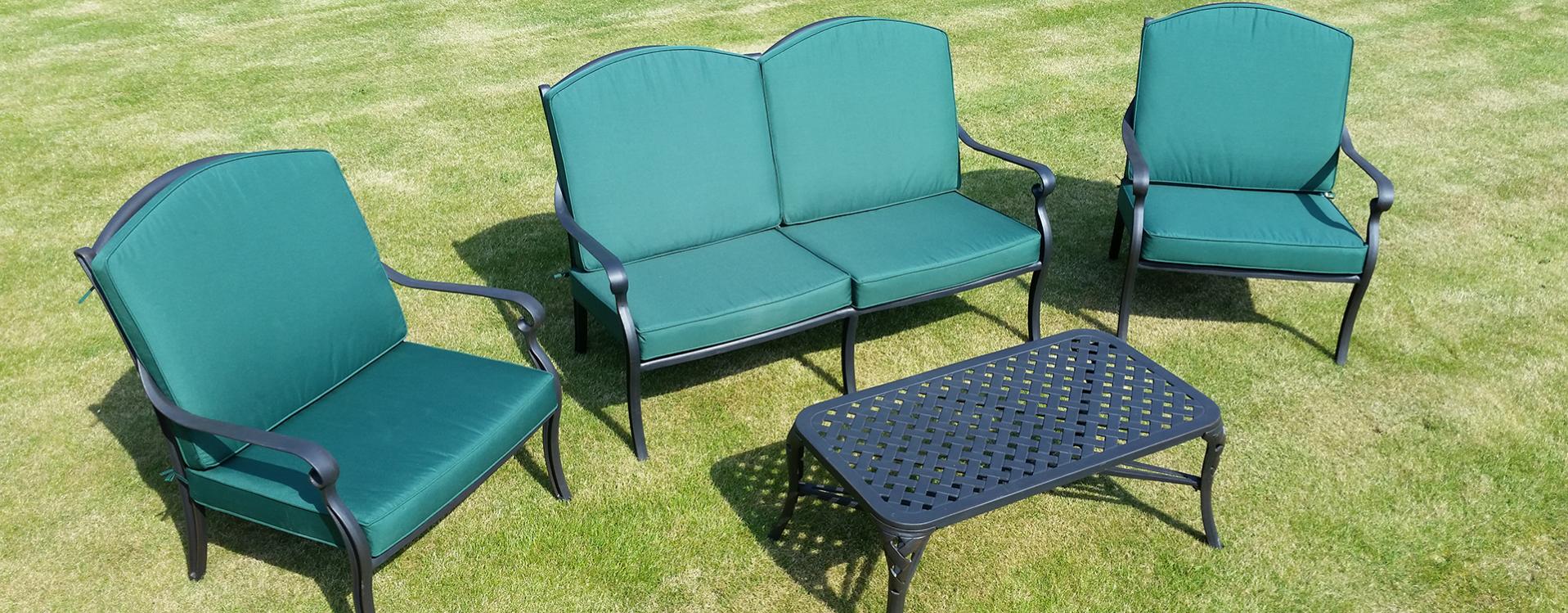 Well Liked Cast Aluminium Garden Furniture (View 18 of 30)