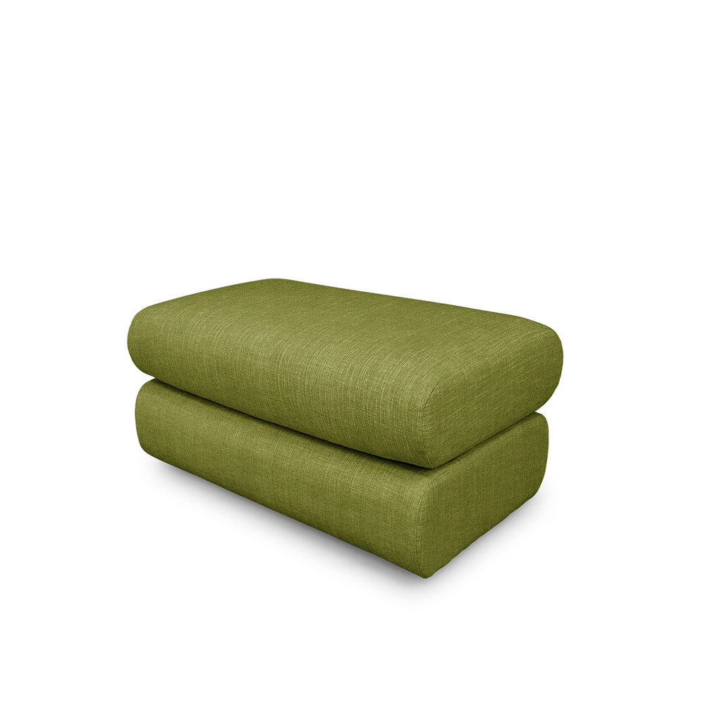 Well Liked Neo Ottoman – Green With Regard To Sibbi Glider Benches (View 27 of 30)