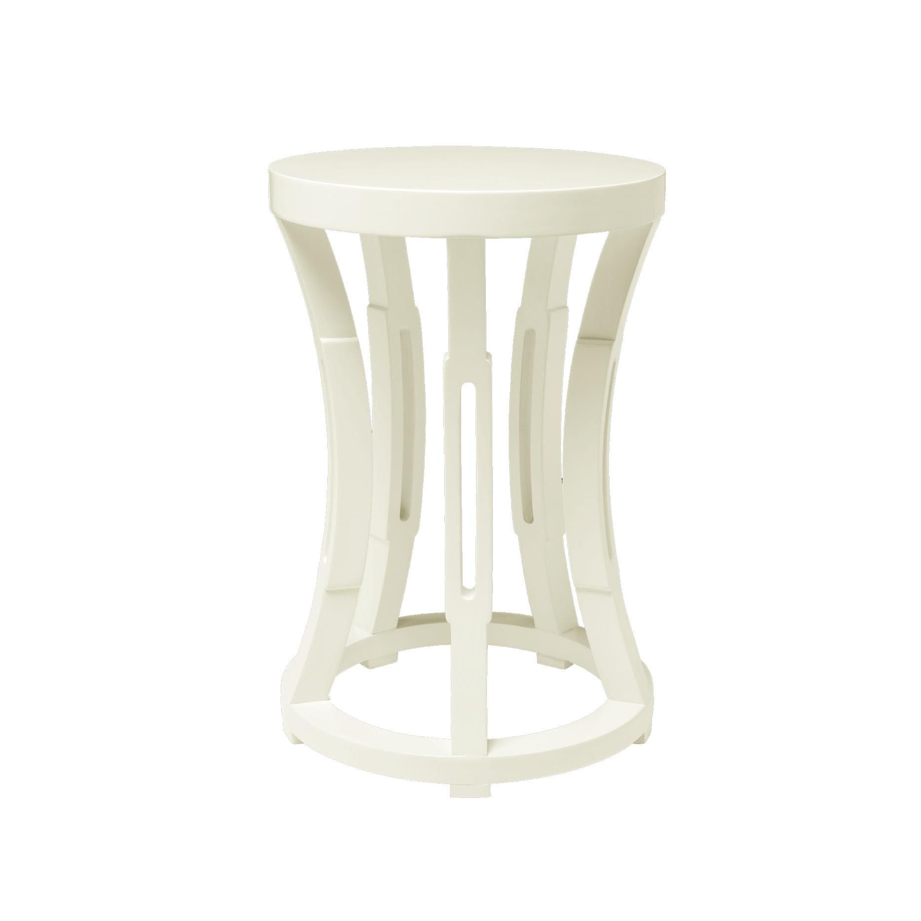White Side Tables, Side Intended For Svendsen Ceramic Garden Stools (View 18 of 30)
