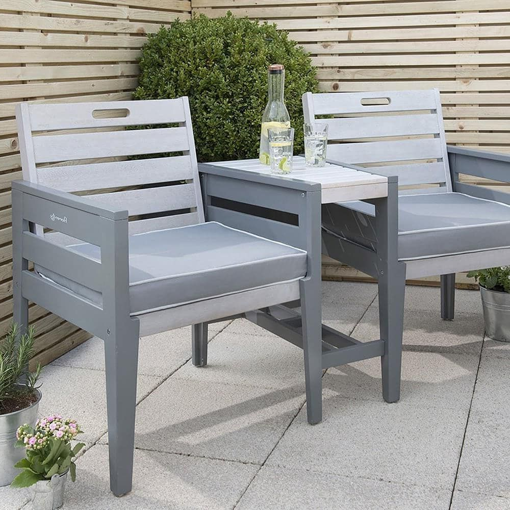 Wicker Tete A Tete Benches Inside Most Recent The Perfect Companion In Your Garden To Whirl Away A (View 23 of 30)