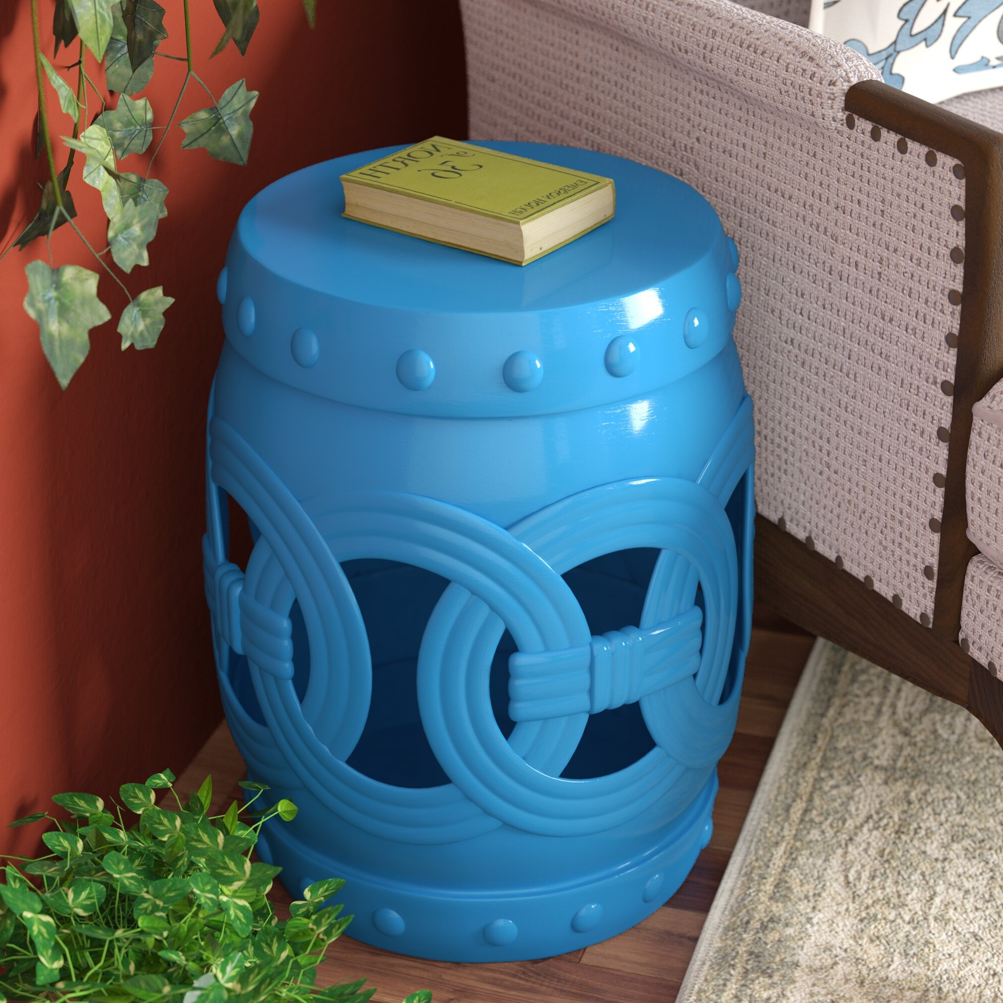 Widely Used Kilpatrick Feng Shui Ceramic Garden Stool Regarding Holbrook Ceramic Garden Stools (View 18 of 30)