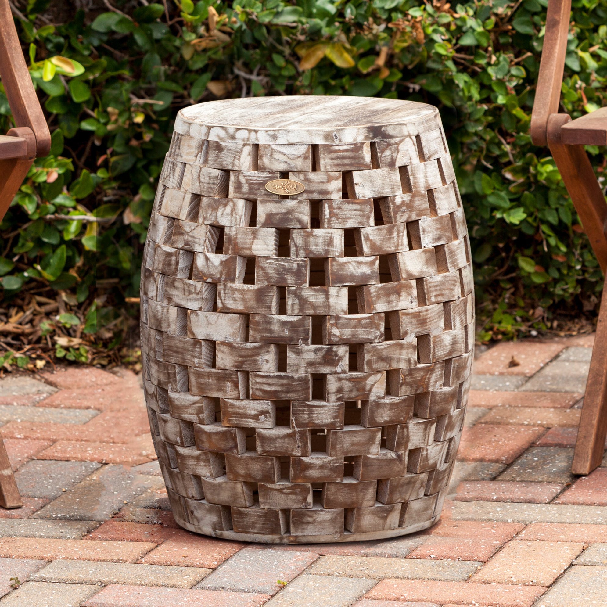 Widely Used Messina Garden Stools Set (set Of 2) Inside Ballendat Garden Accent Stool (View 2 of 30)