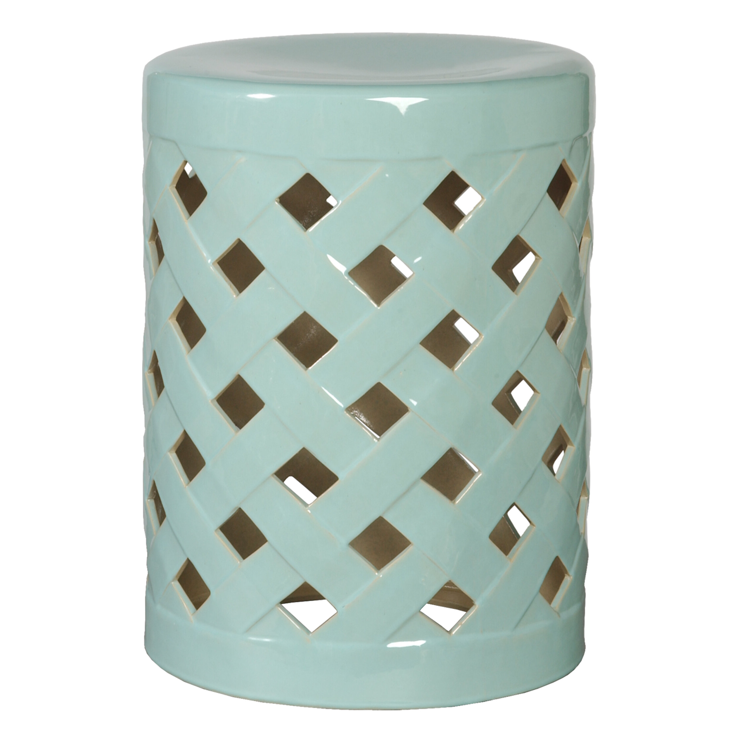 Widely Used Ormside Ceramic Garden Stool Throughout Tillia Ceramic Garden Stools (View 5 of 30)