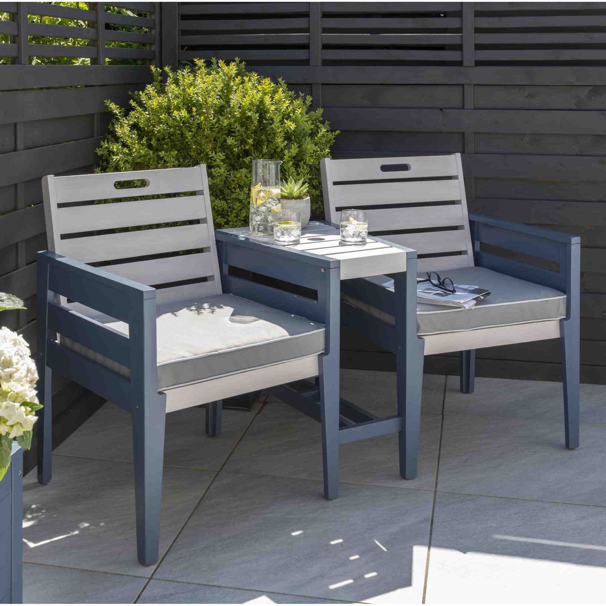 Widely Used Wicker Tete A Tete Benches Pertaining To Norfolk Leisure Galaxy Tete A Tete Bench Set (View 29 of 30)
