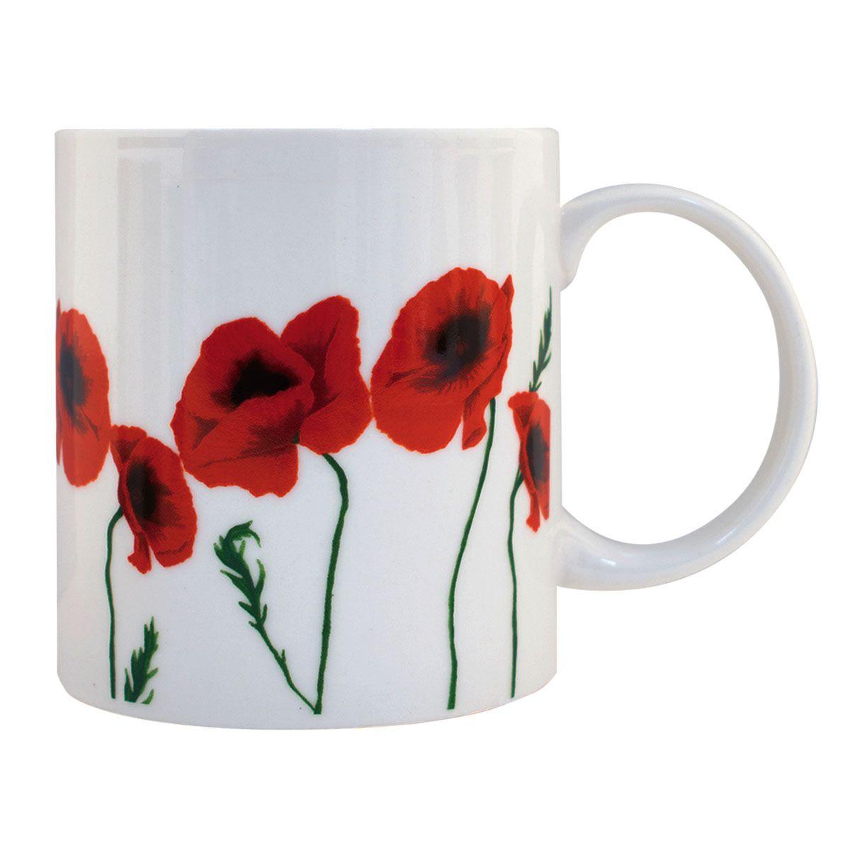 Wilde Poppies Ceramic Garden Stools For 2019 Poppy Ceramic Mug (View 19 of 30)