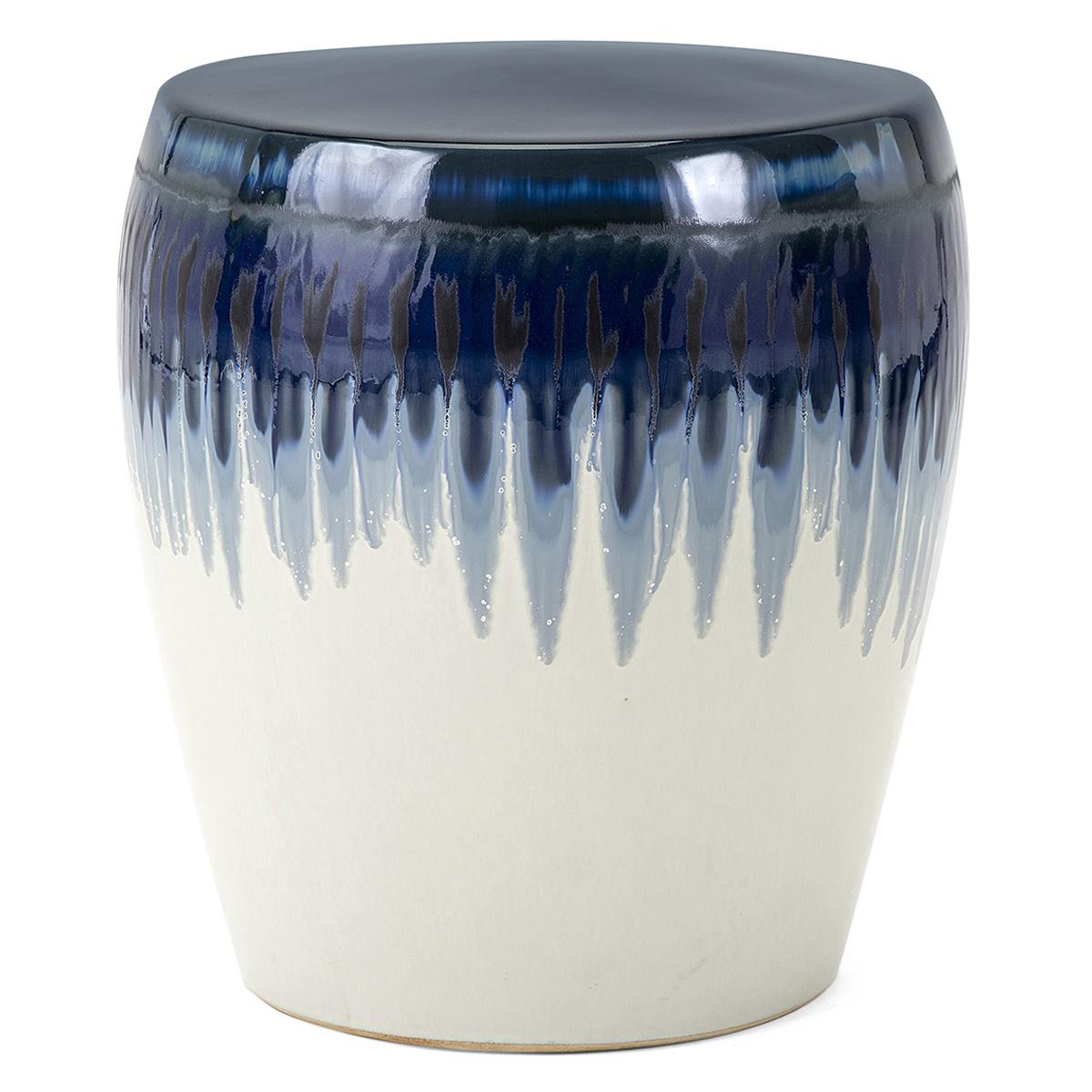 Williar Cherry Blossom Ceramic Garden Stools Regarding Popular Azul Ceramic Garden Stool (View 21 of 30)